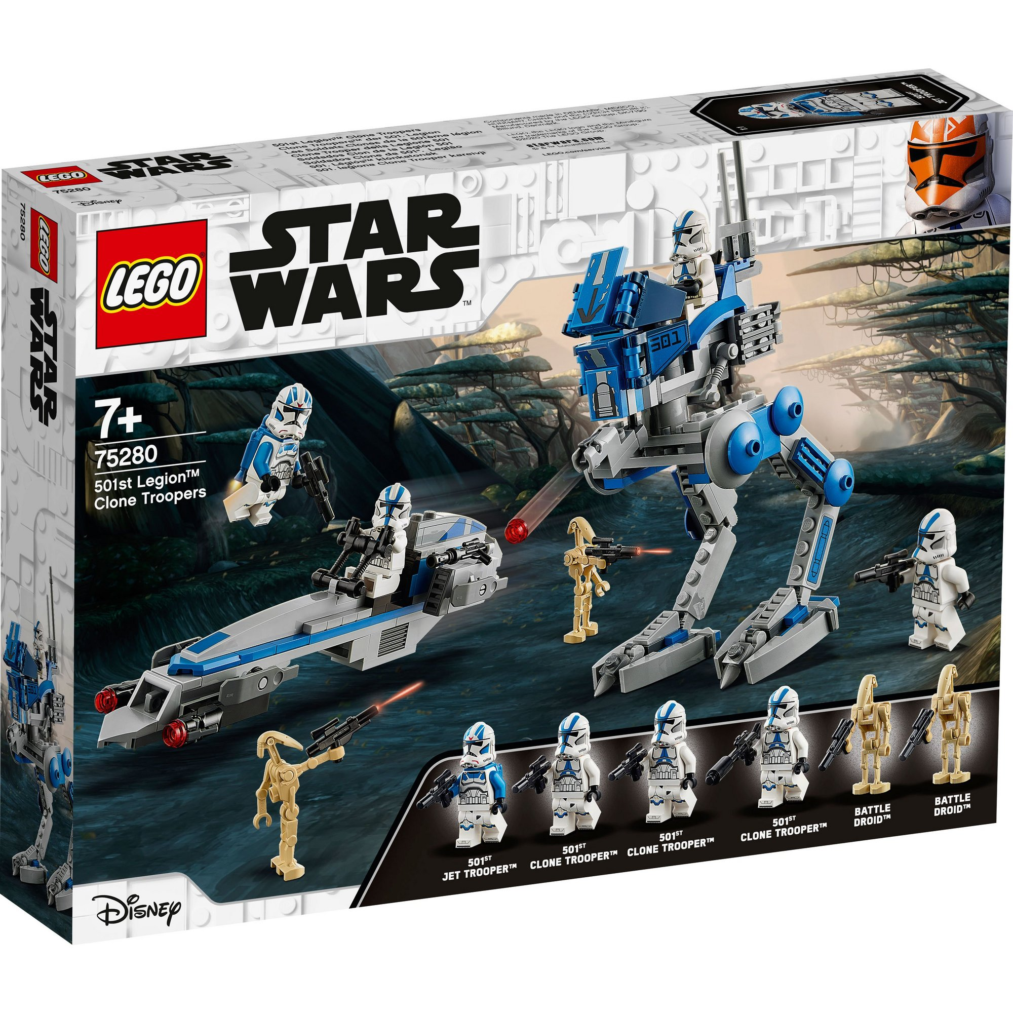 Image of LEGO Star Wars 501st Legion Clone Troopers
