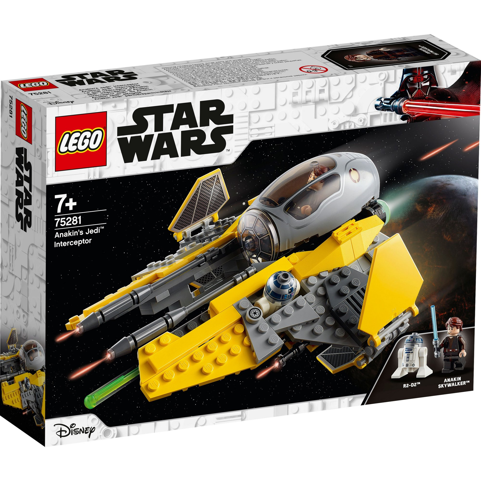 Image of LEGO Star Wars Anakins Jedi Interceptor