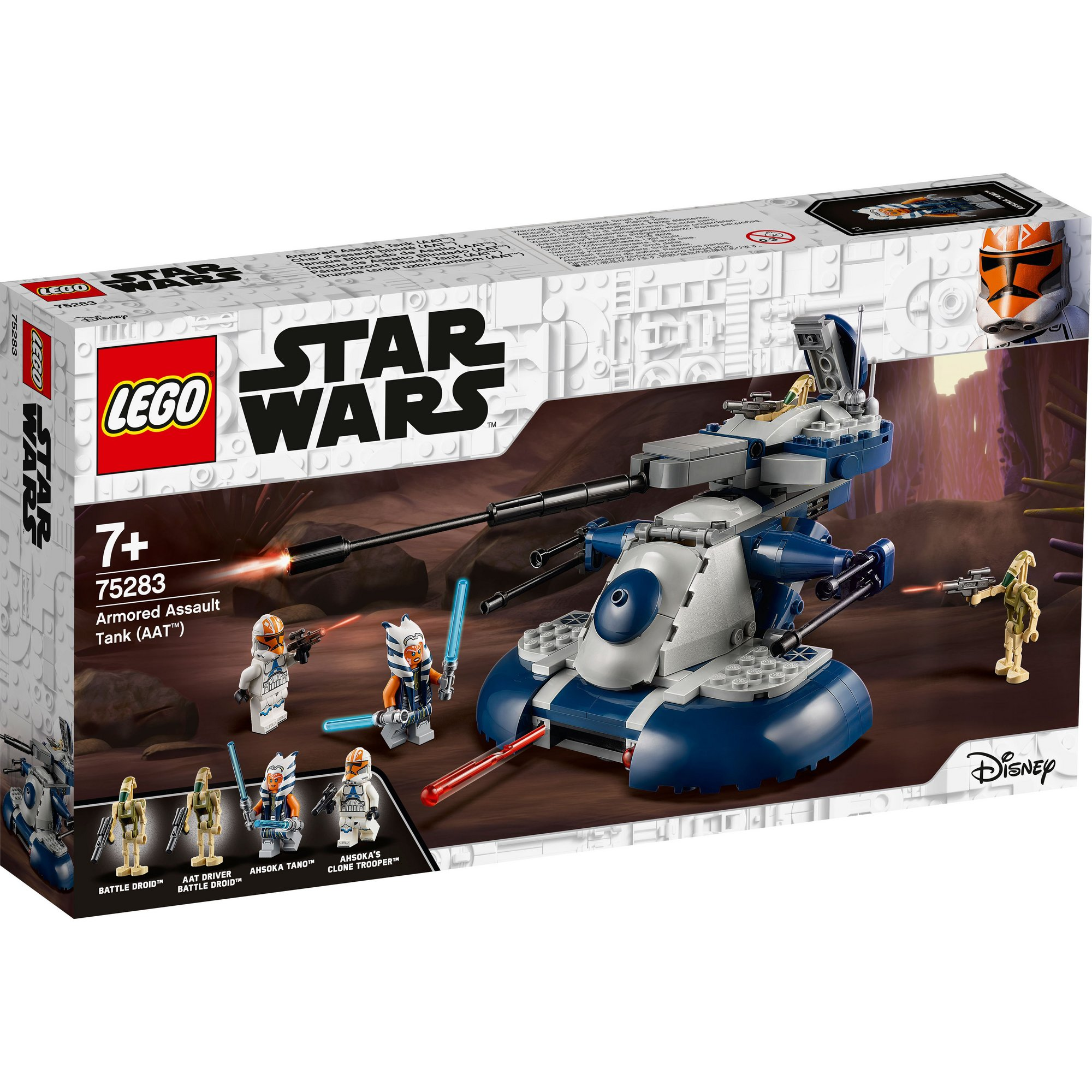 Image of LEGO Star Wars The Clone Wars AAT for Battle Play