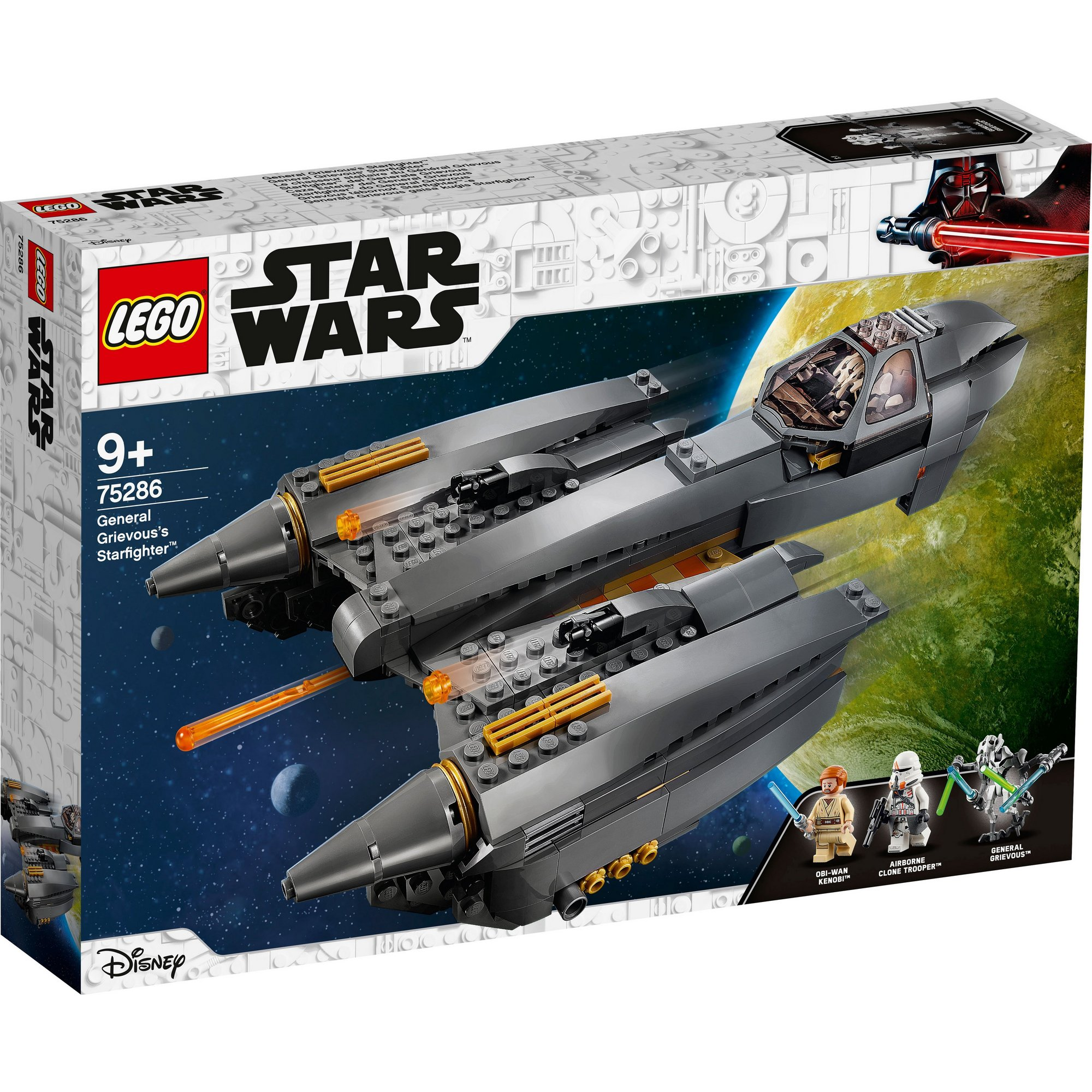 Image of LEGO Star Wars General Grievous Starfighter