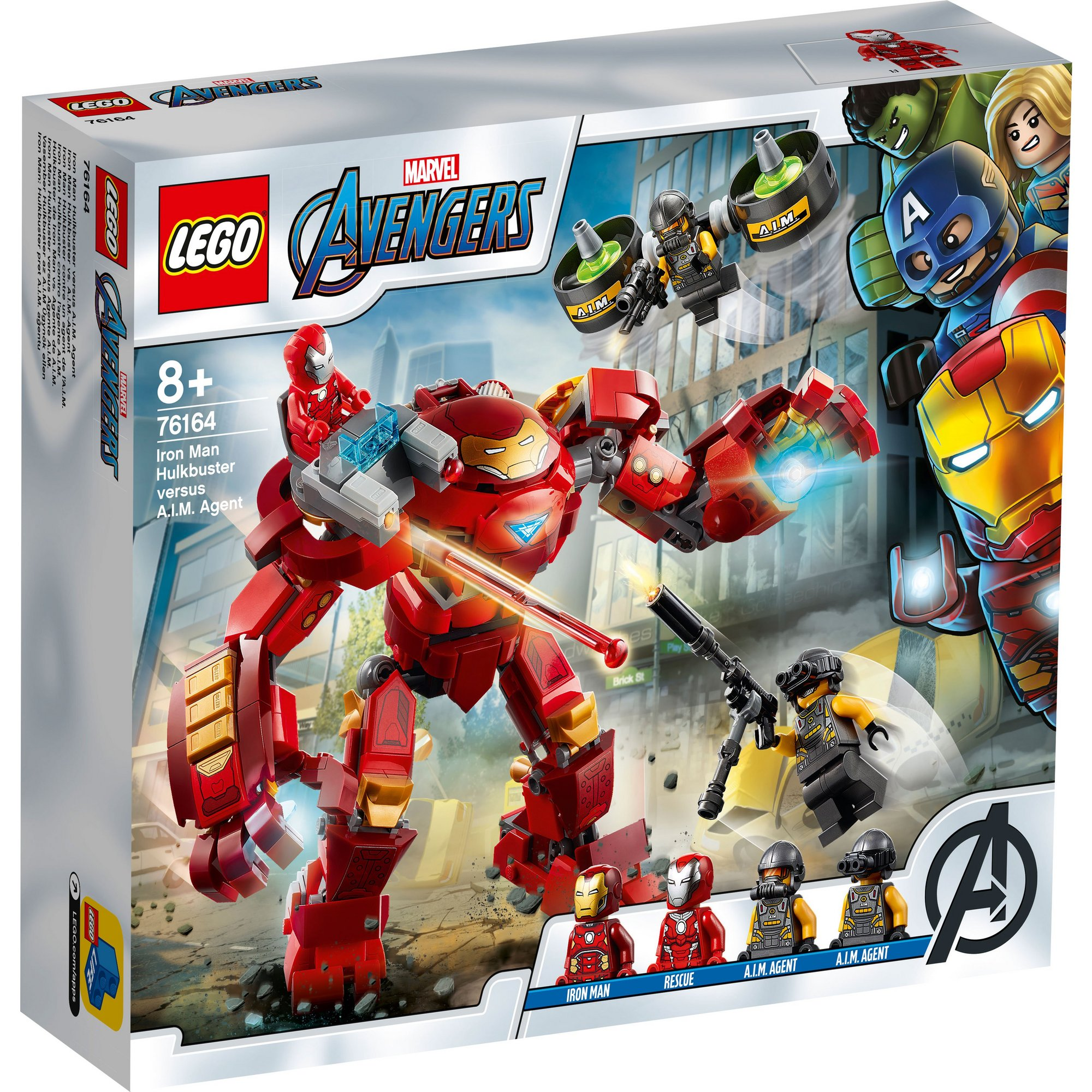 Image of LEGO Super Heroes Iron Man Hulkbuster