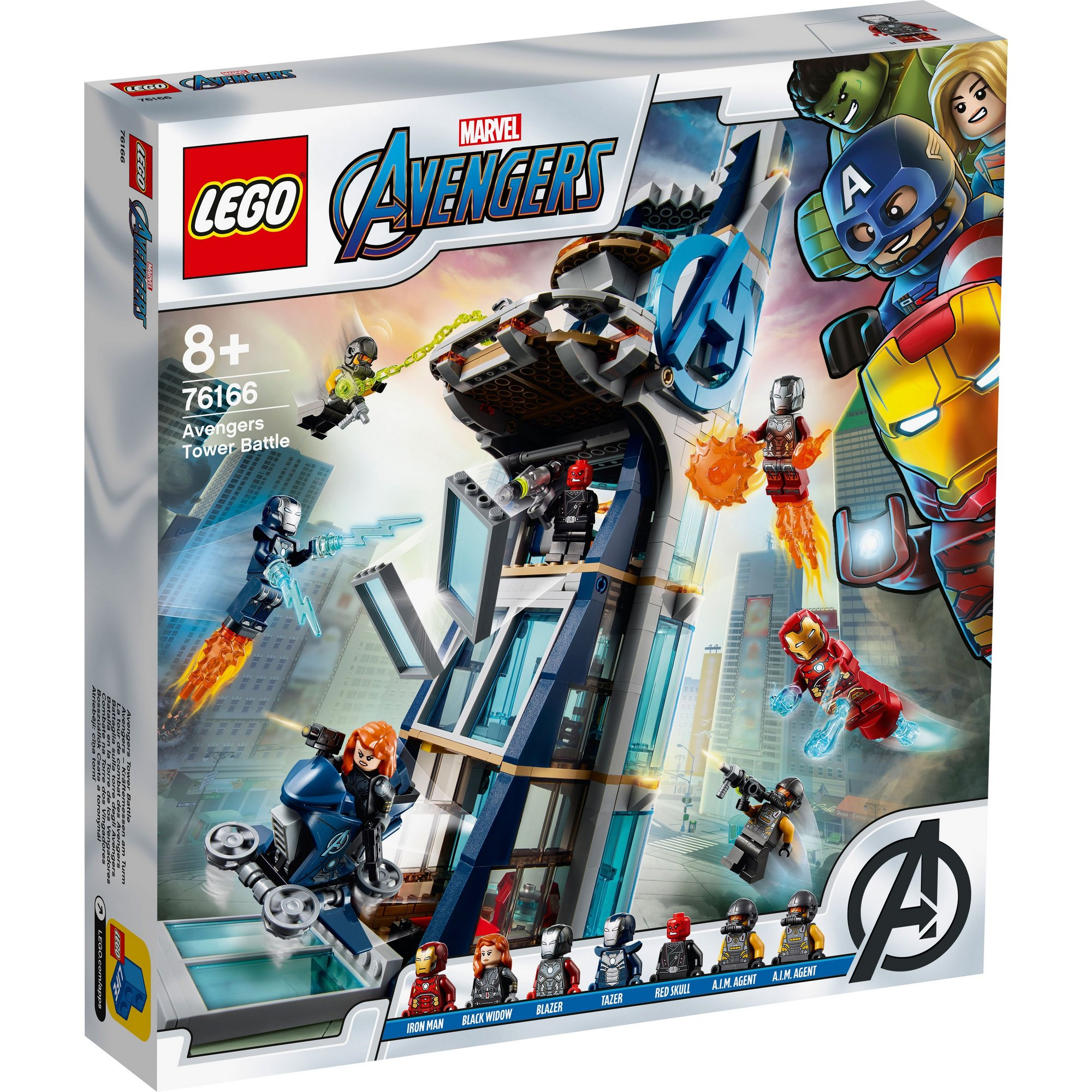 Image of LEGO Super Heroes Avengers Tower Battle