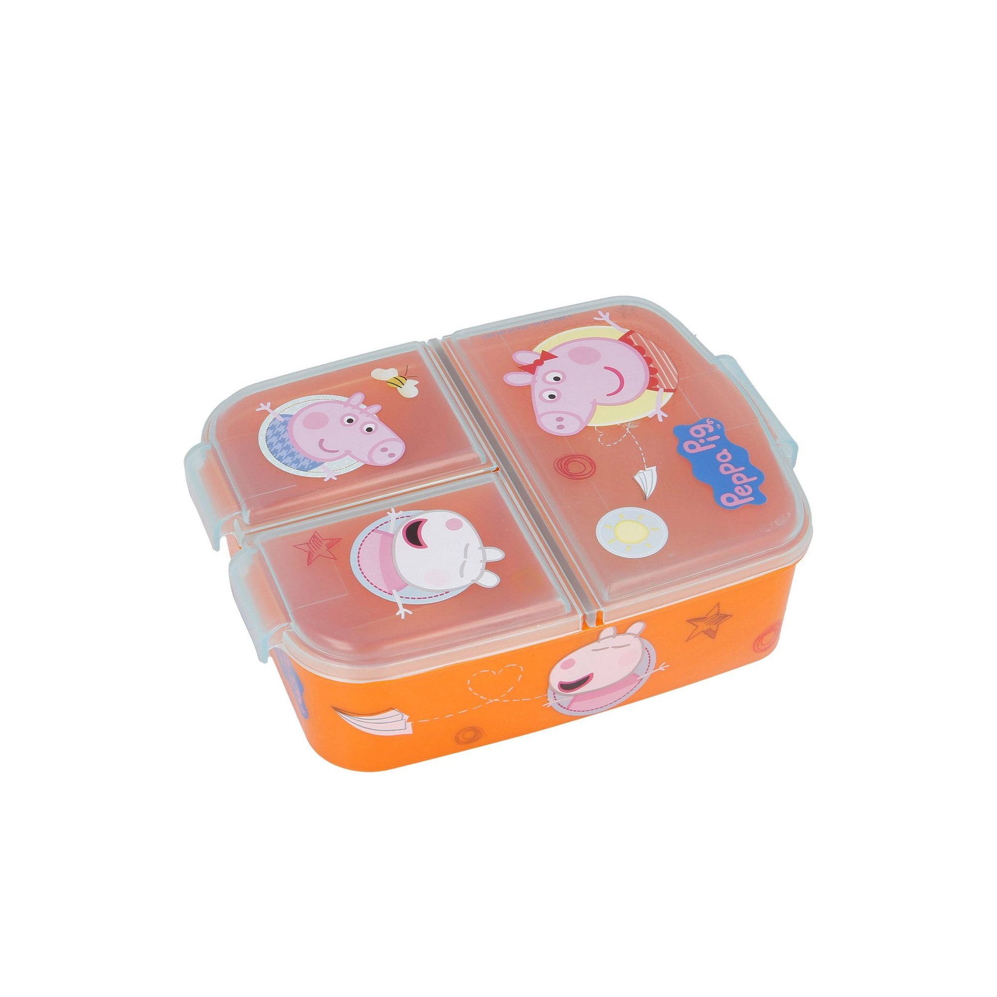 Image of Stor Peppa Pig Multi Compartment Sandwich Box