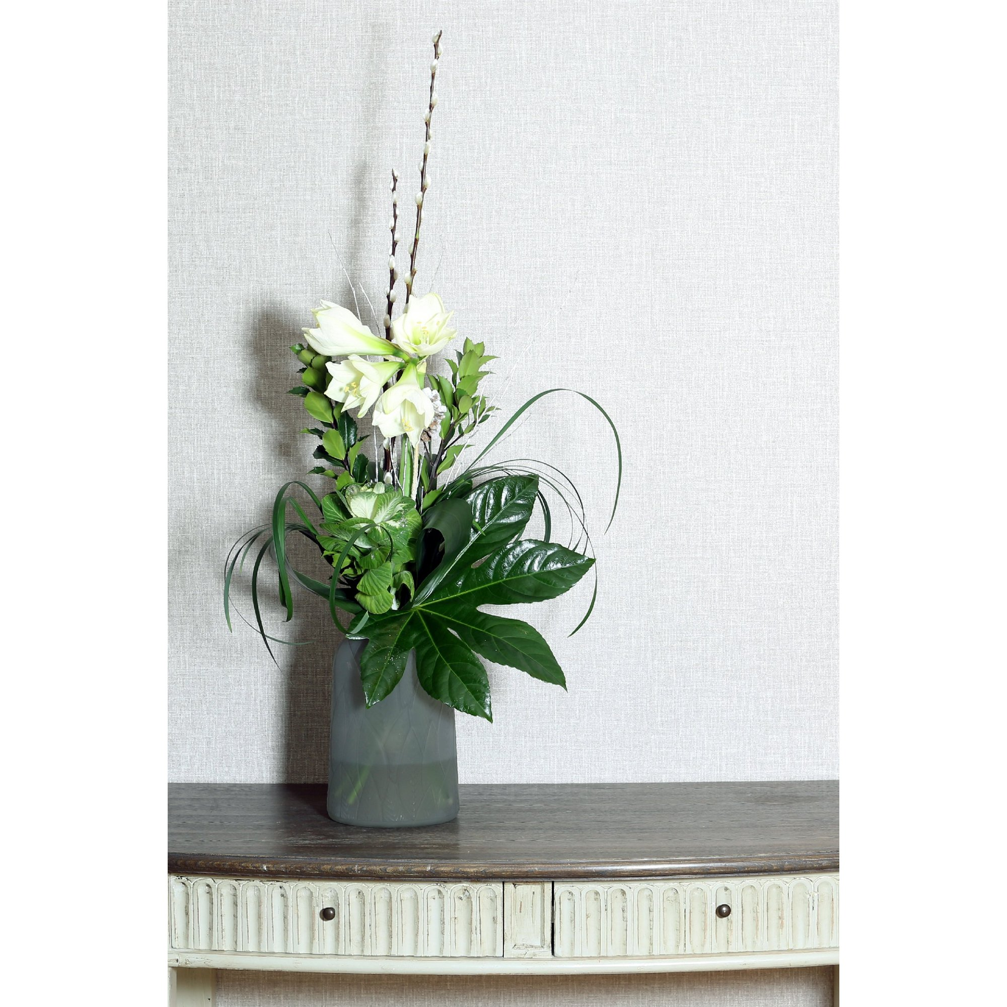 Image of Dusky Leaf Vase