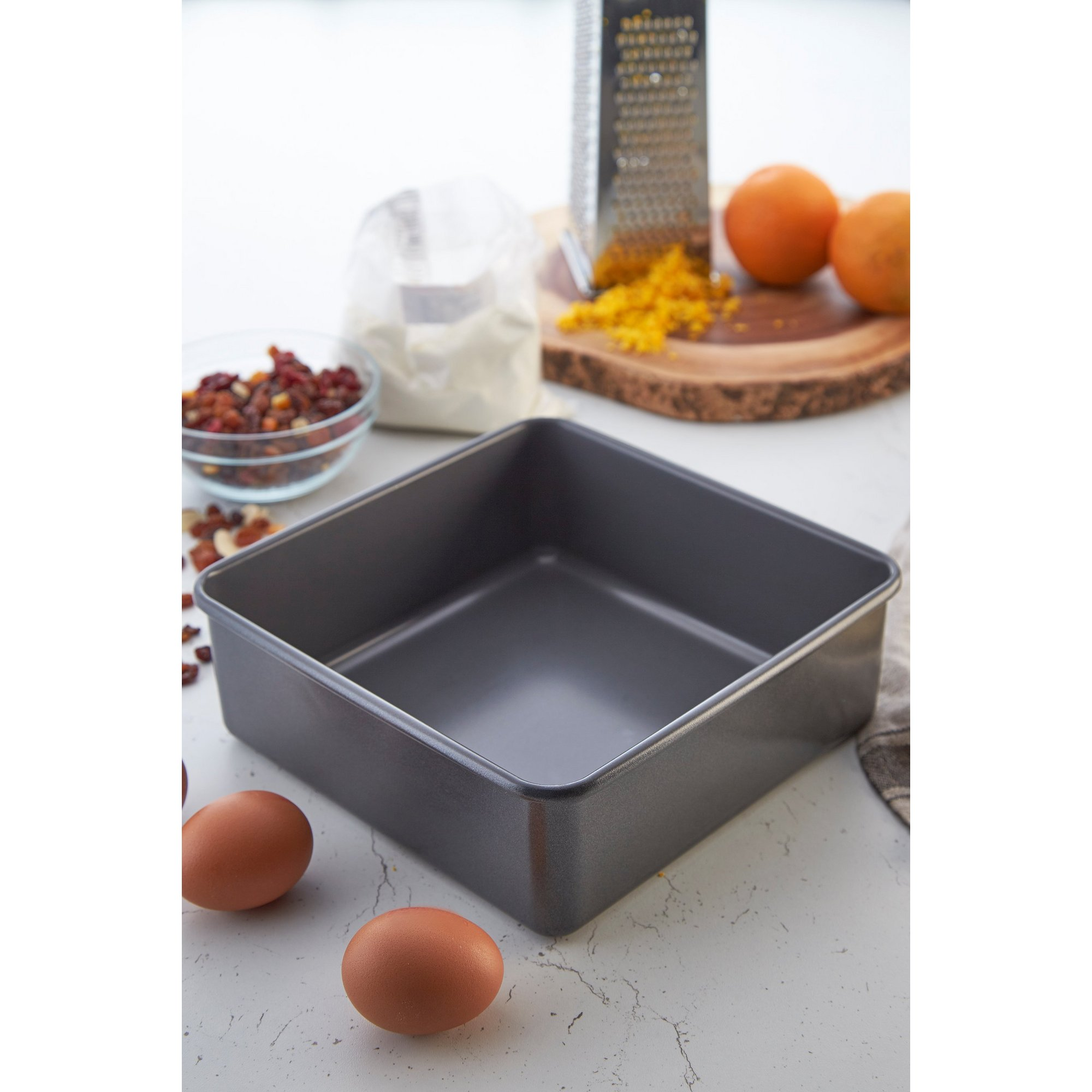 Image of Hairy Bikers Deep Square Cake Tin