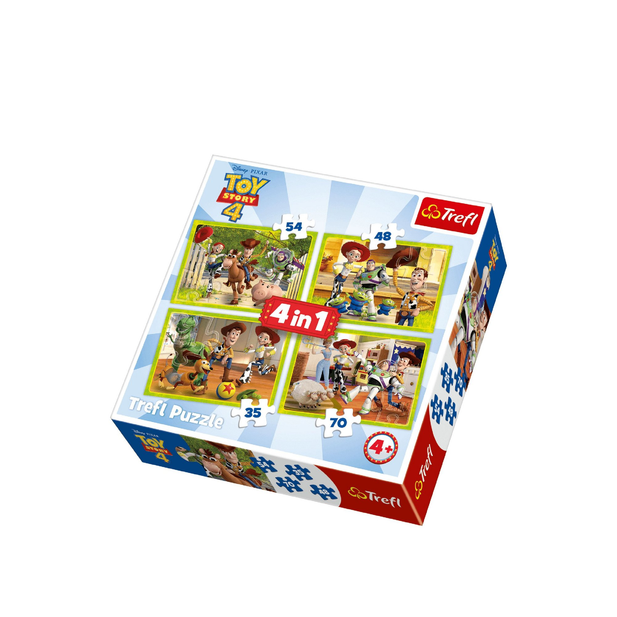 Image of 4 in 1 Toy Story Jigsaw Puzzle