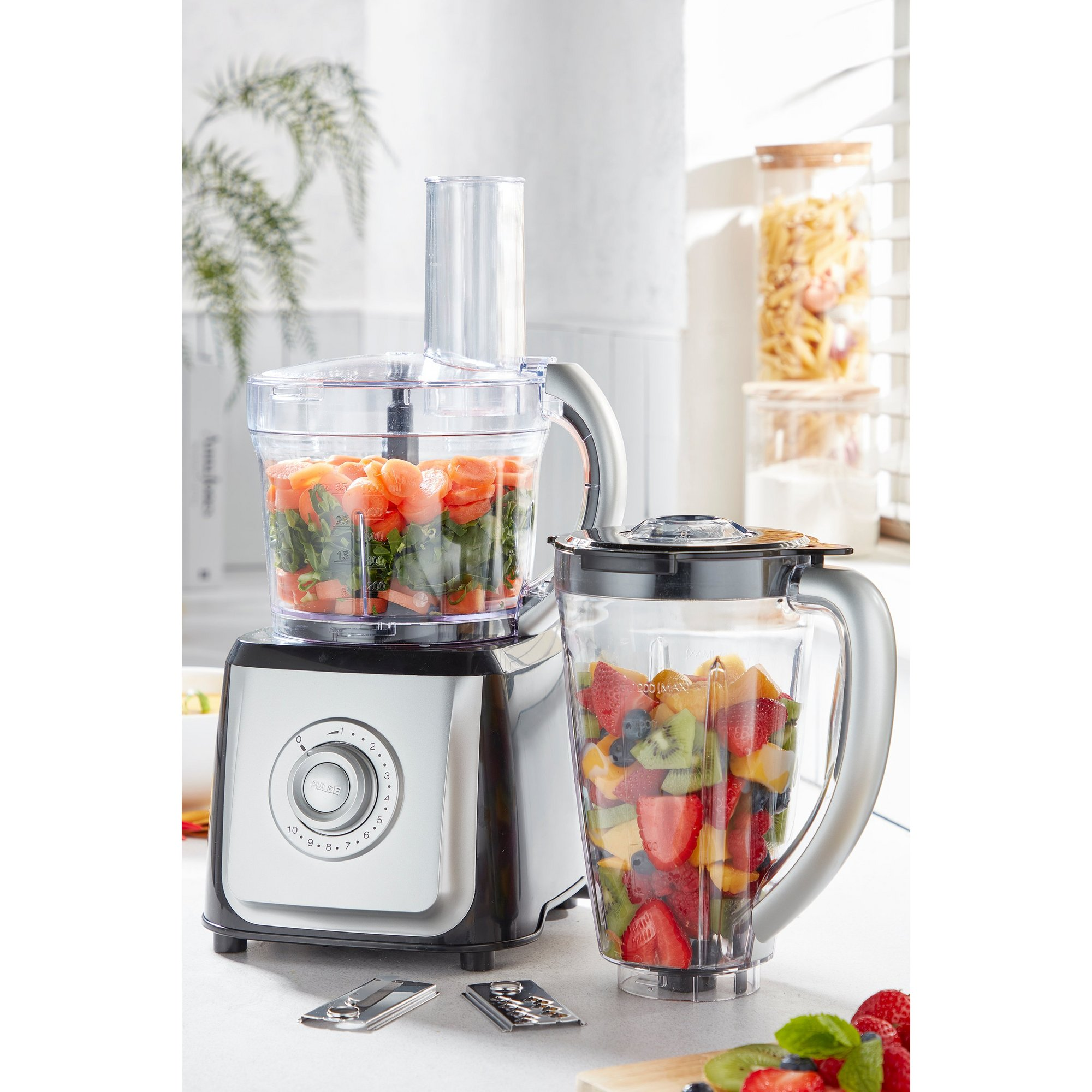 Image of 2-in-1 Food Processor