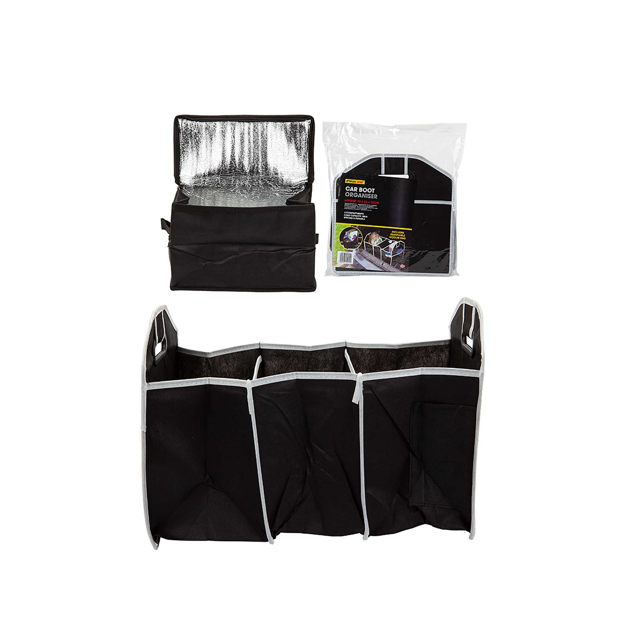 Image of Car Boot Organiser with Removable Cooler Bag
