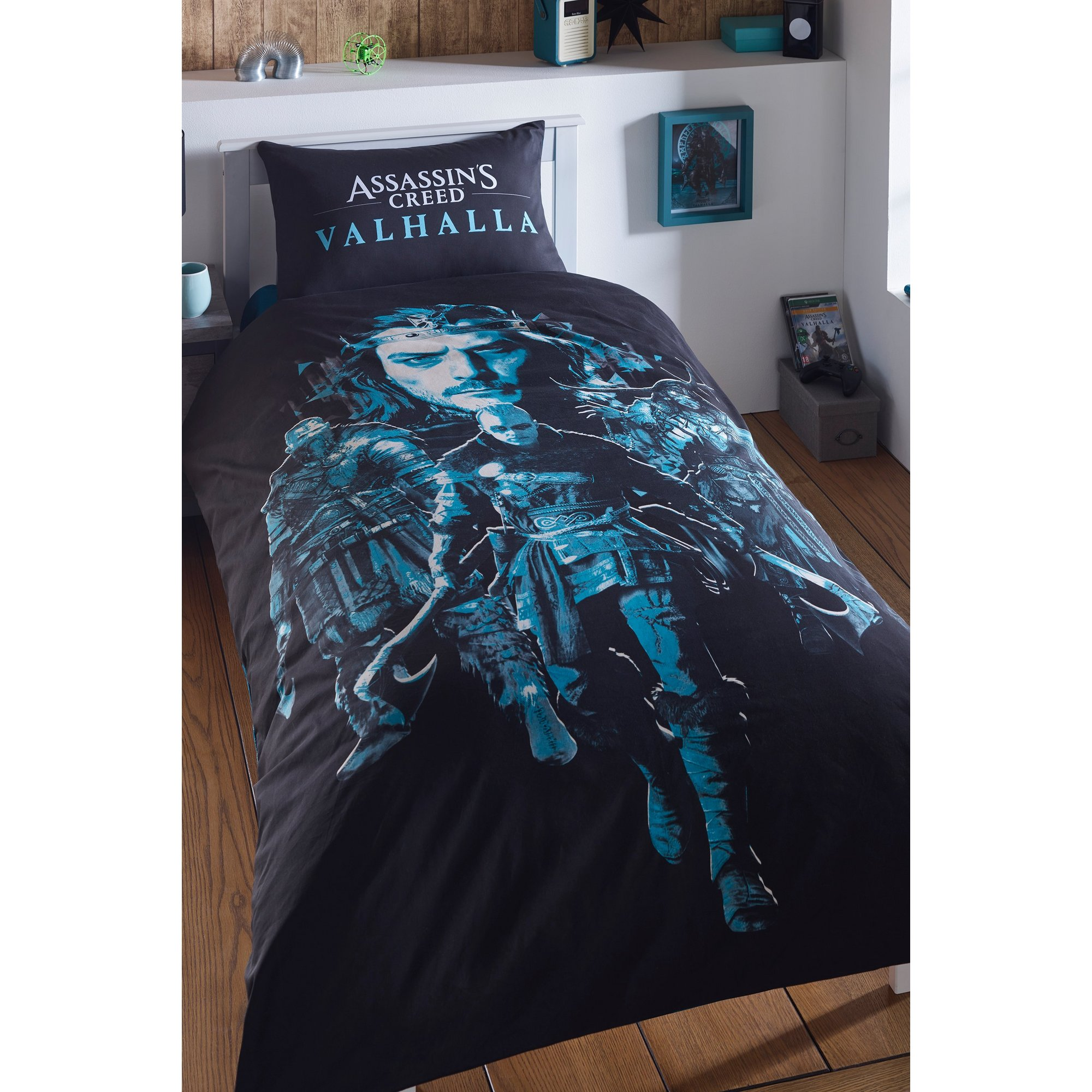 Image of Assassins Creed Valhalla Reversible Duvet Set