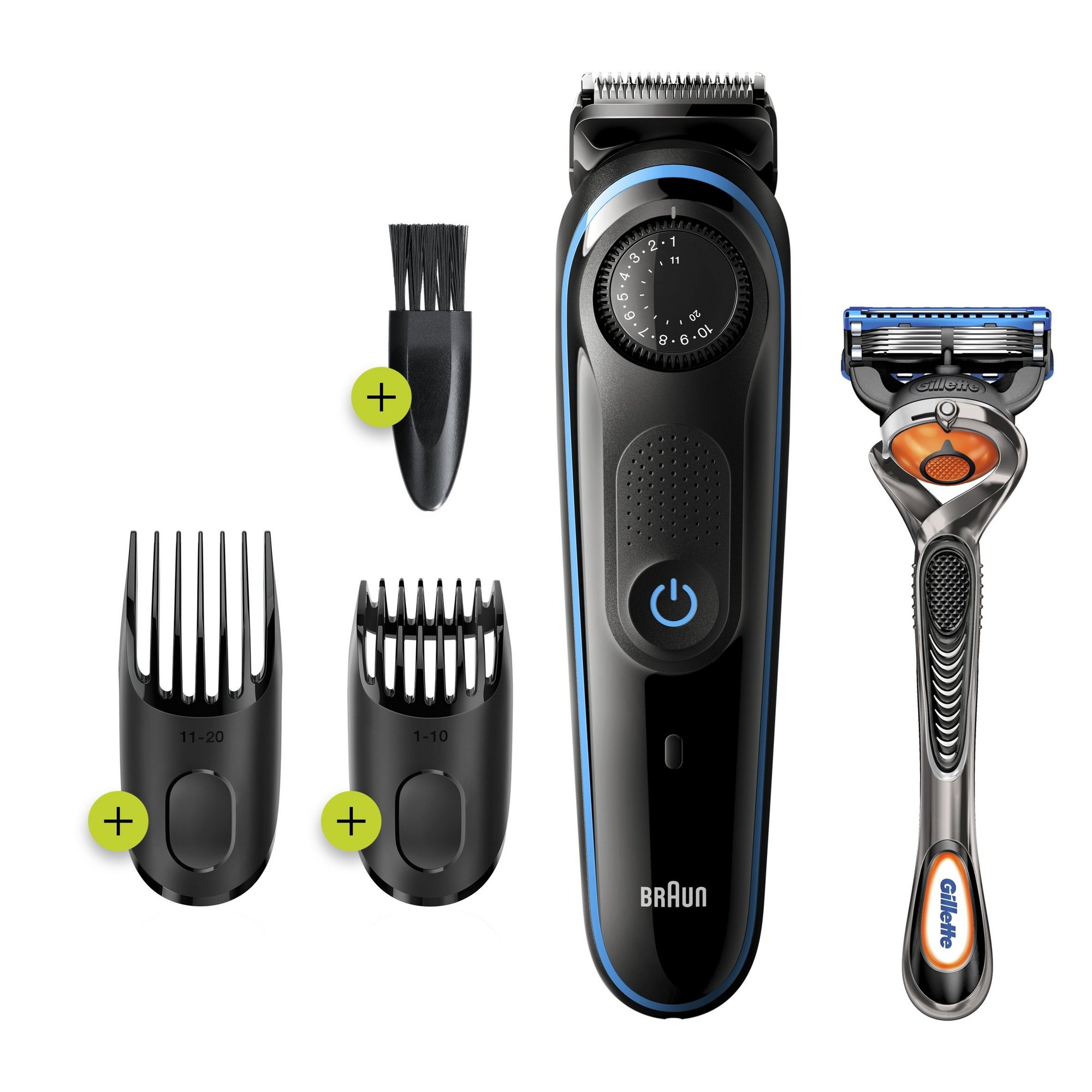 Image of Braun BT3240 Hair Clipper and Beard Trimmer
