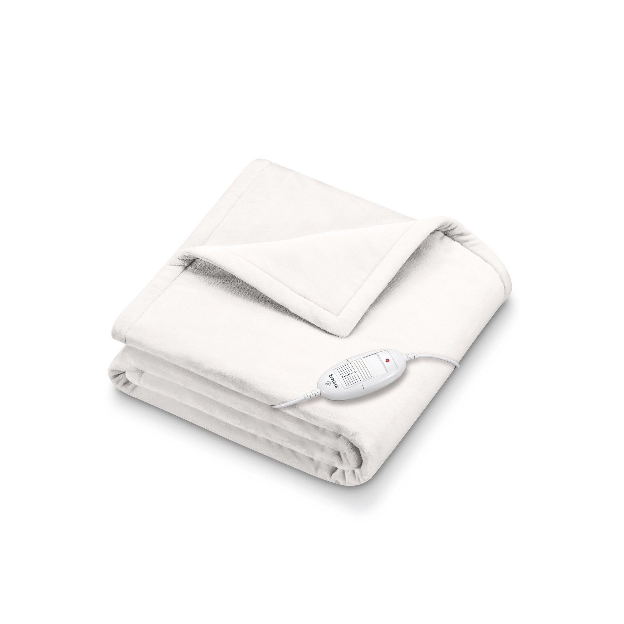 Image of Beurer White Heated Snuggie Throw