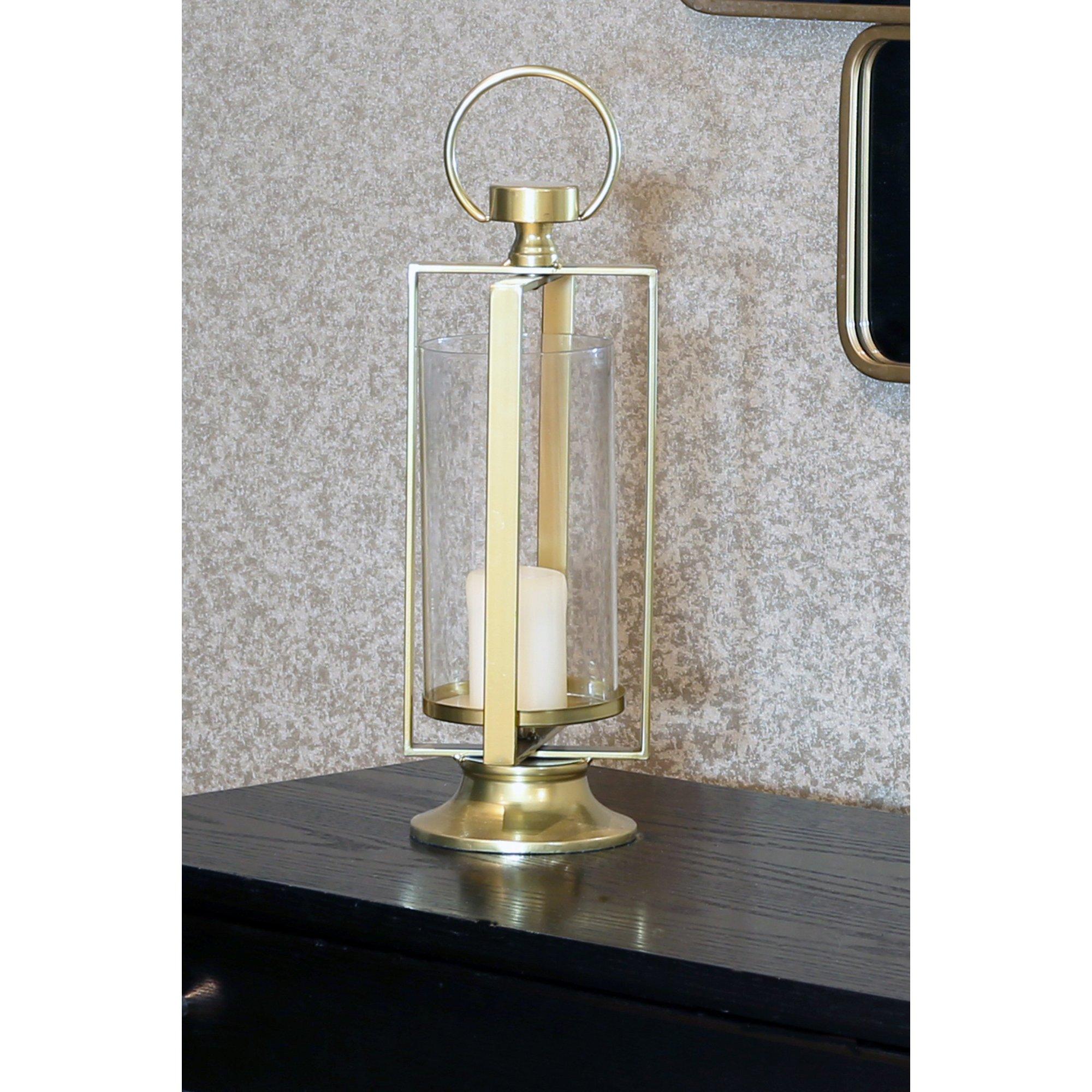 Image of Gold Effect Lantern