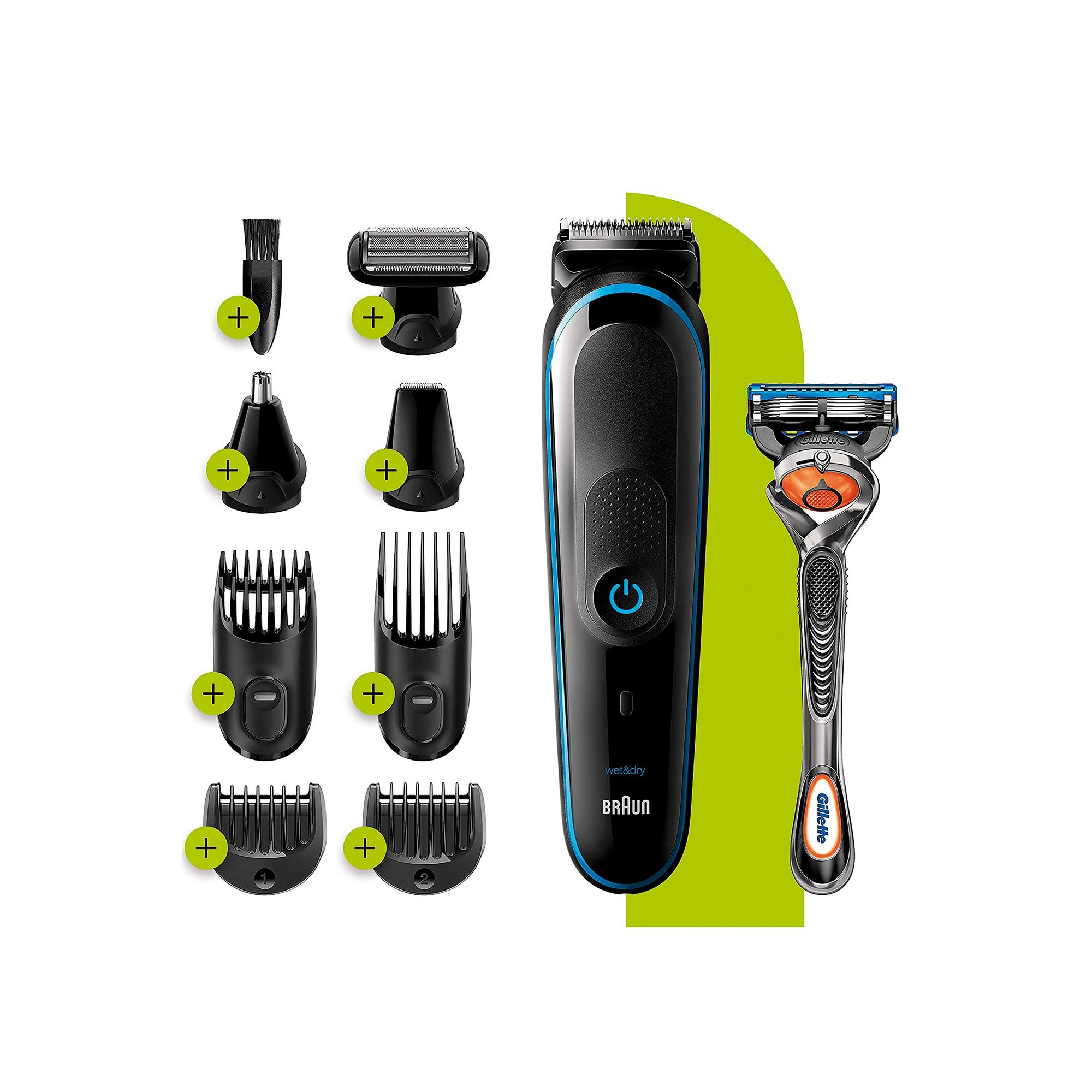 Image of Braun 9-in-1 Beard and Hair Trimmer