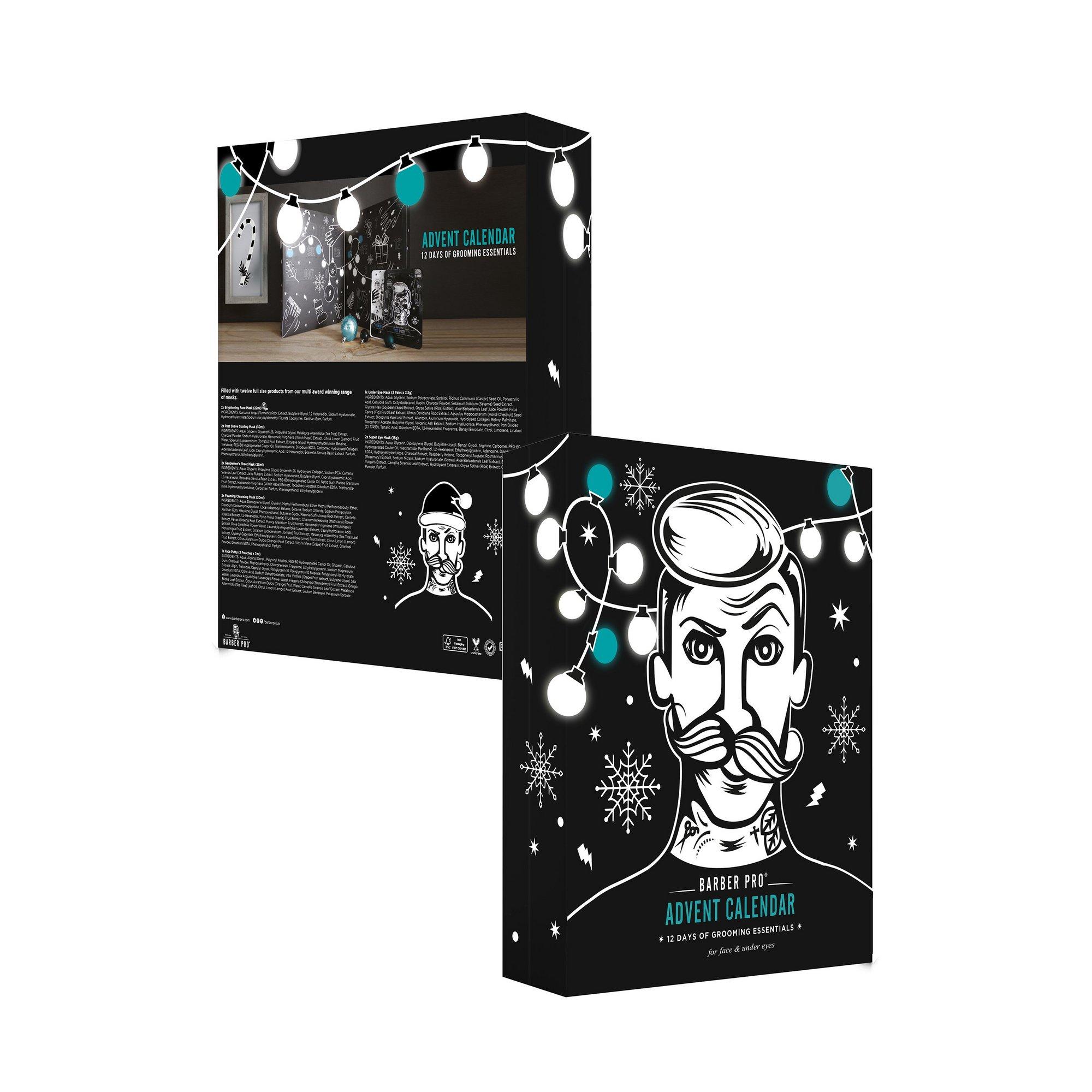 Image of BarberPro 12 Days of Grooming Essentials Advent Calendar