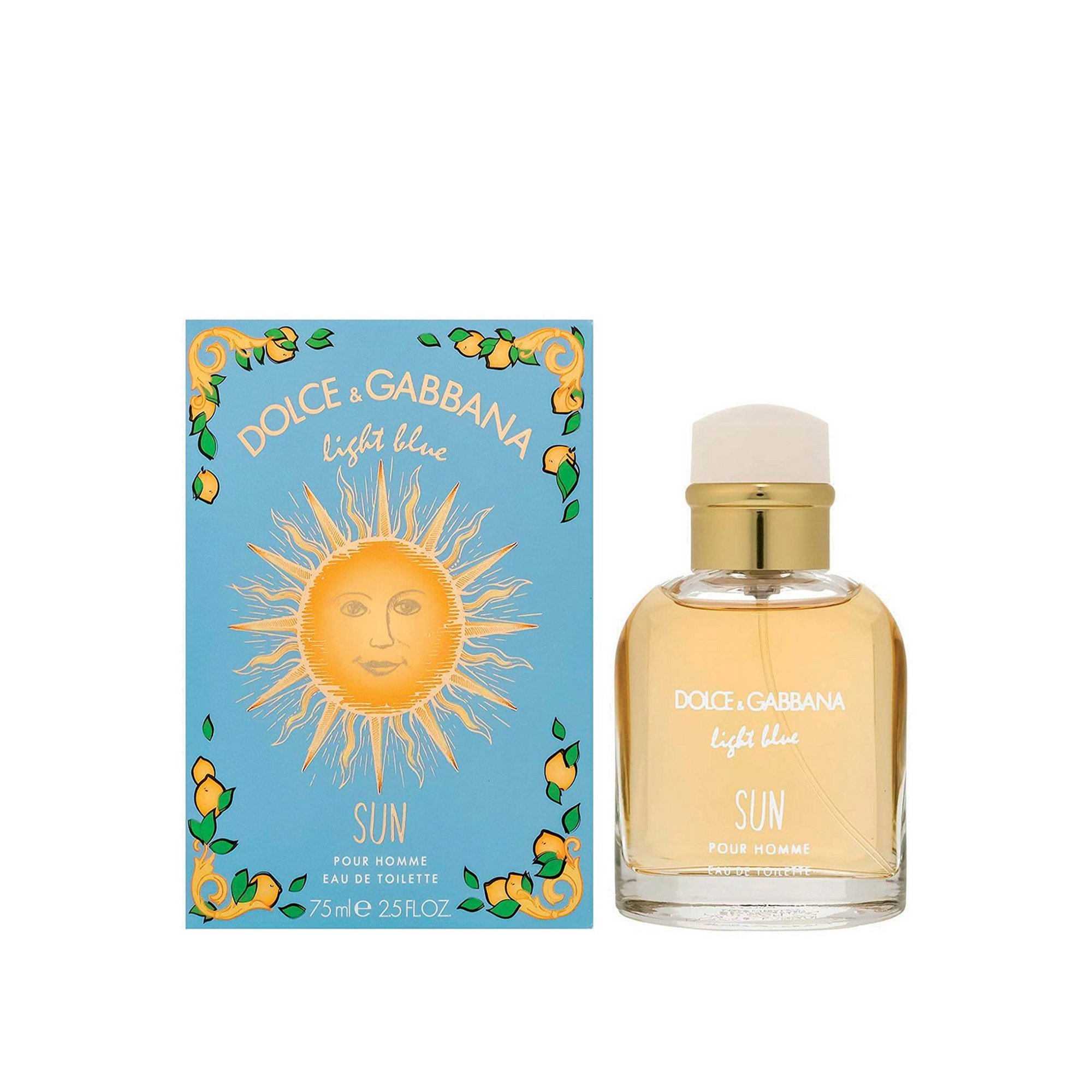 Image of Dolce and Gabbana Light Blue Sun Pour Homme 75ml EDT