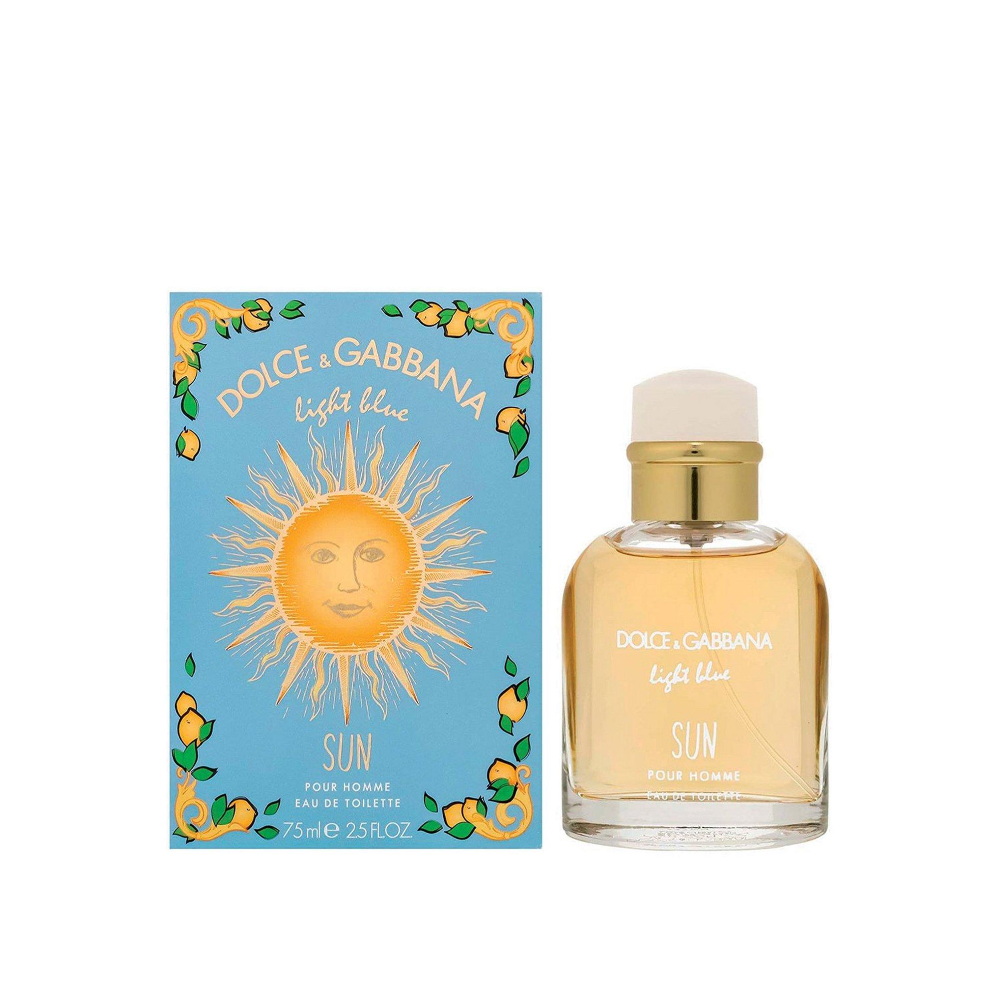 Image of Dolce and Gabbana Light Blue Sun Pour Homme 75ml Eau De Toilette