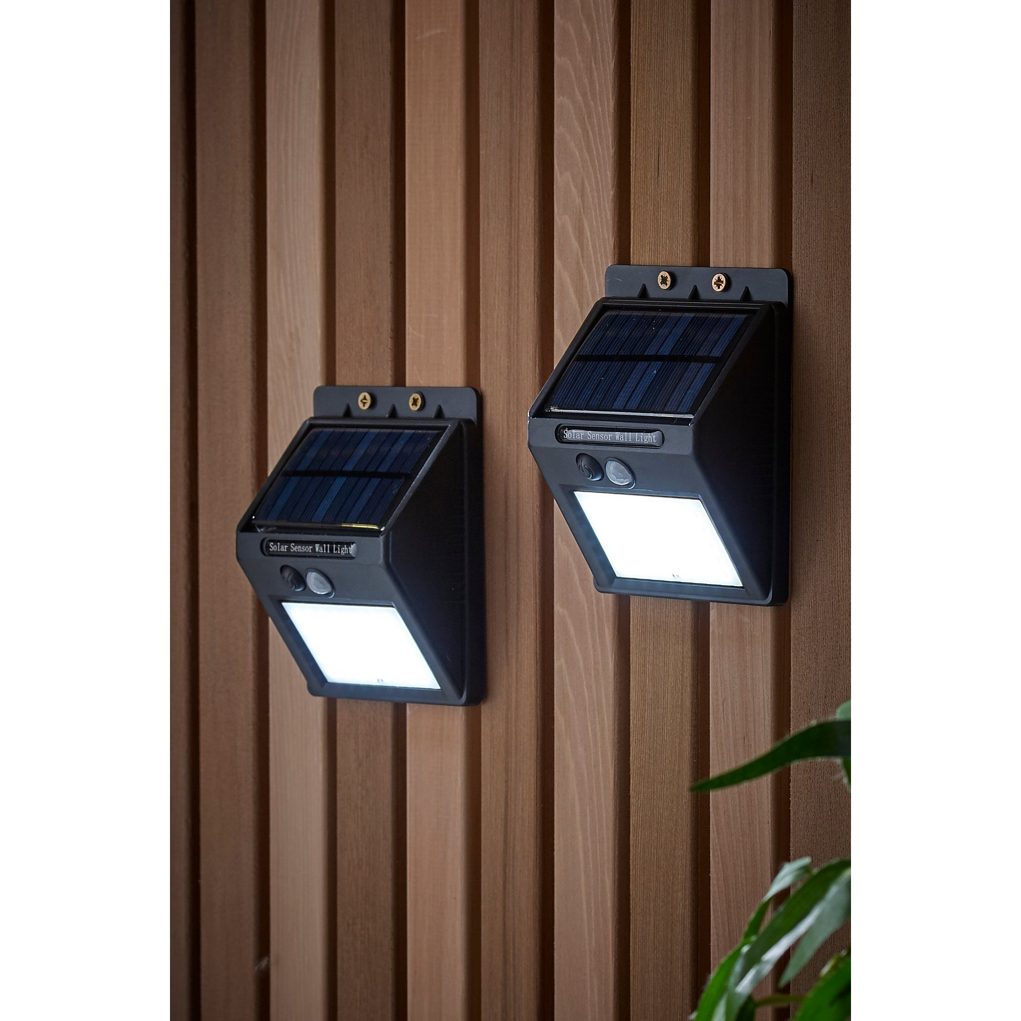 Image of Pair of Security Lights