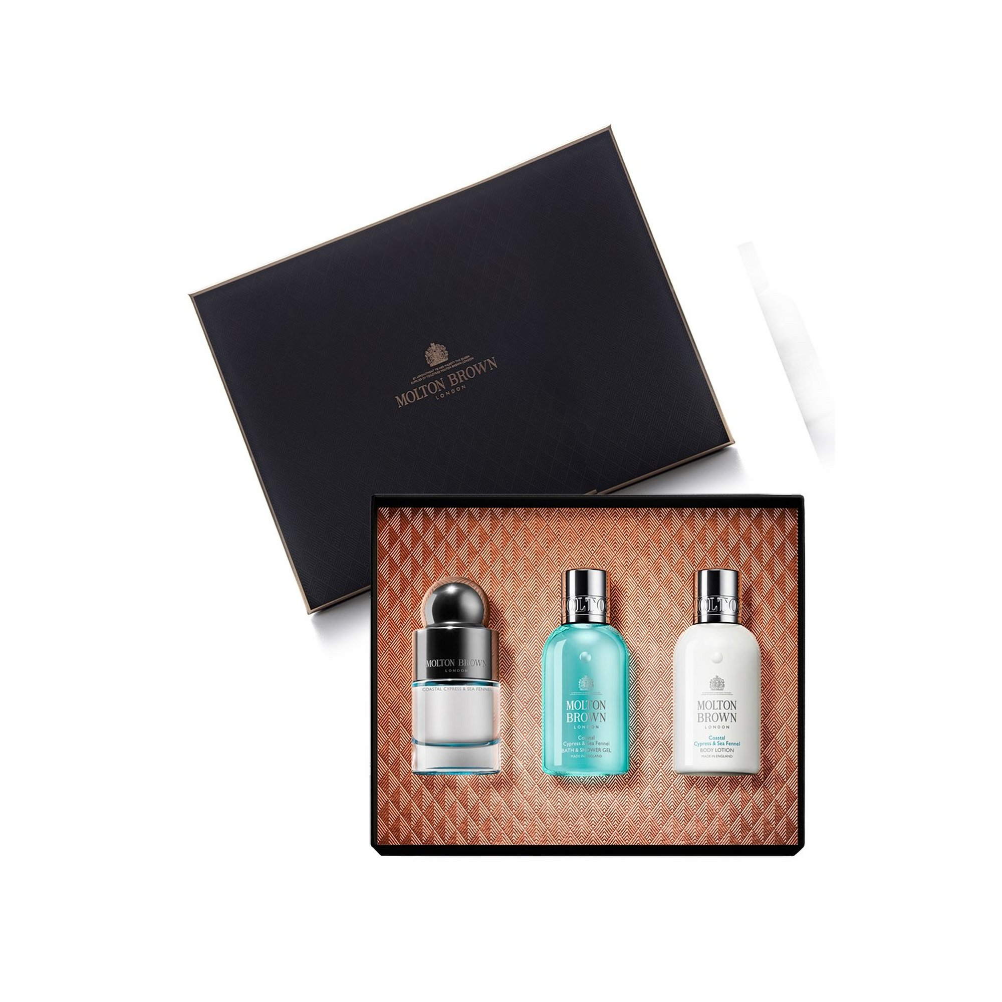 Image of Molton Brown Coastal Cypress and Sea Fennel Collection