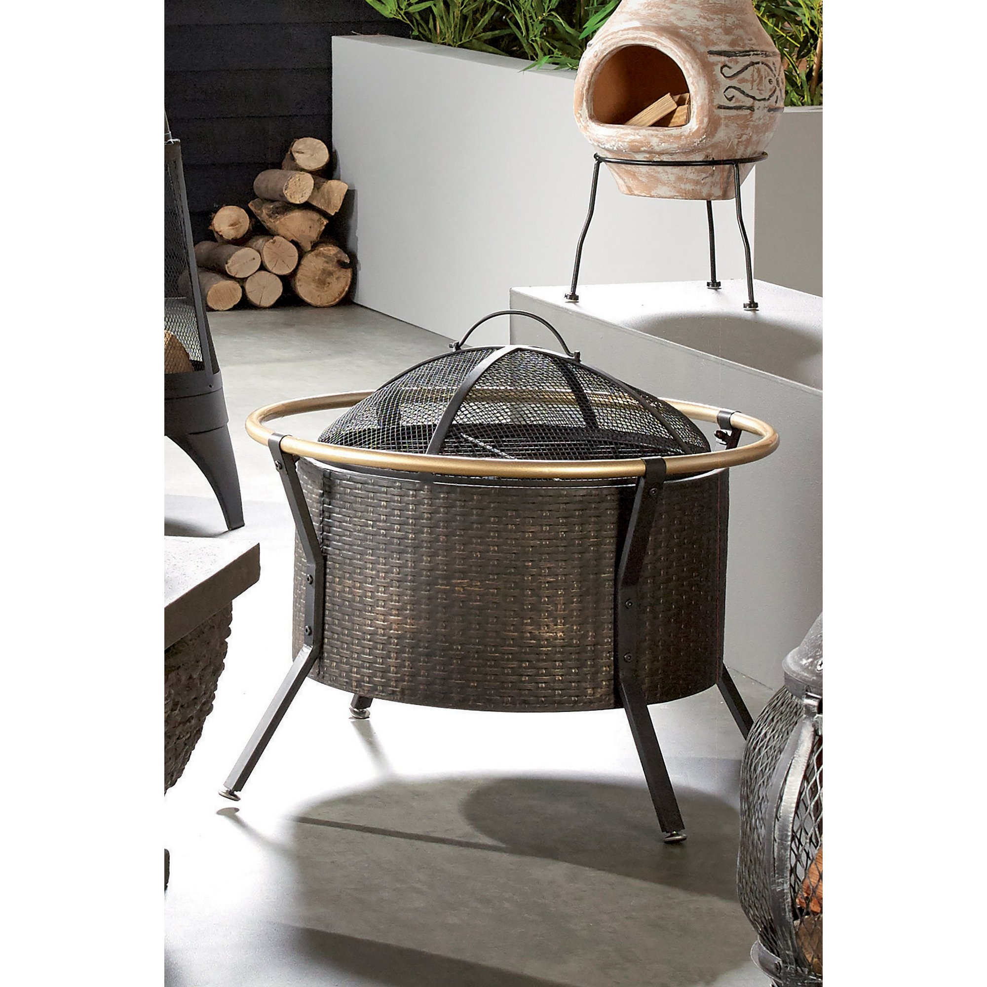 Image of Ember Copper Ring Fire Pit
