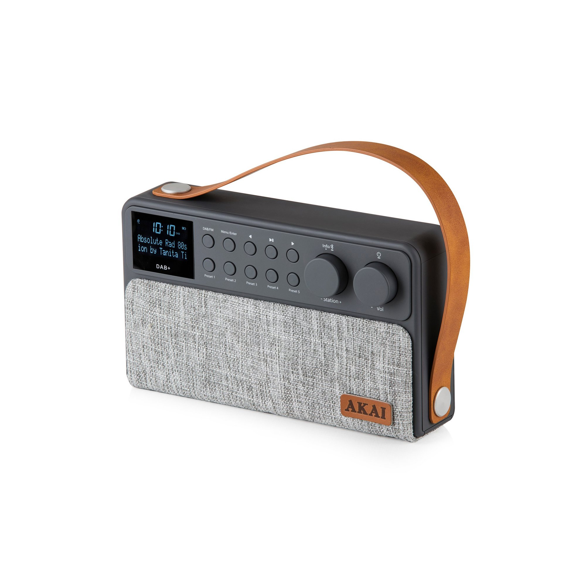 Image of Akai Sonisk Rechargeable DAB+ Radio