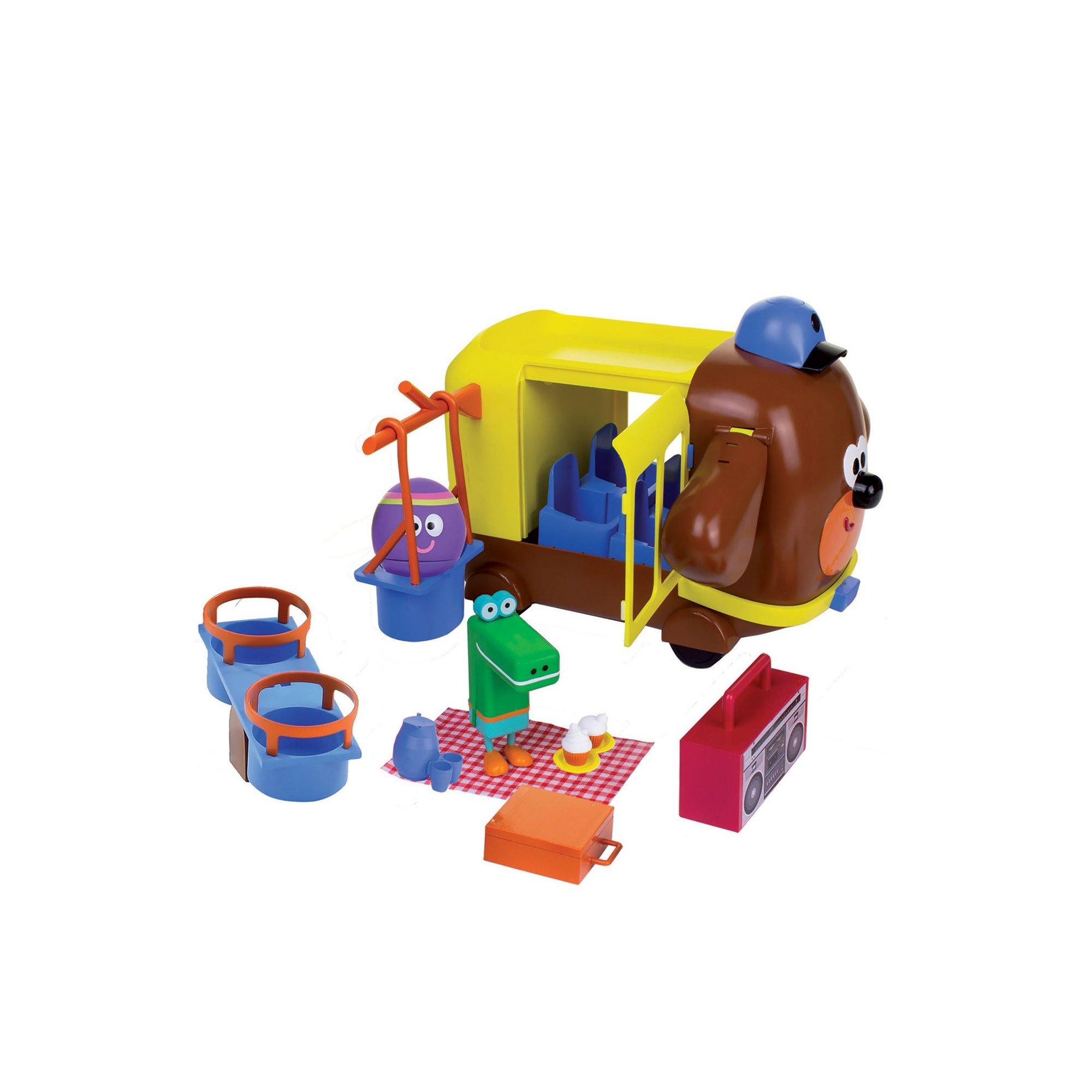 Image of Hey Duggee Adventure Bus Playset