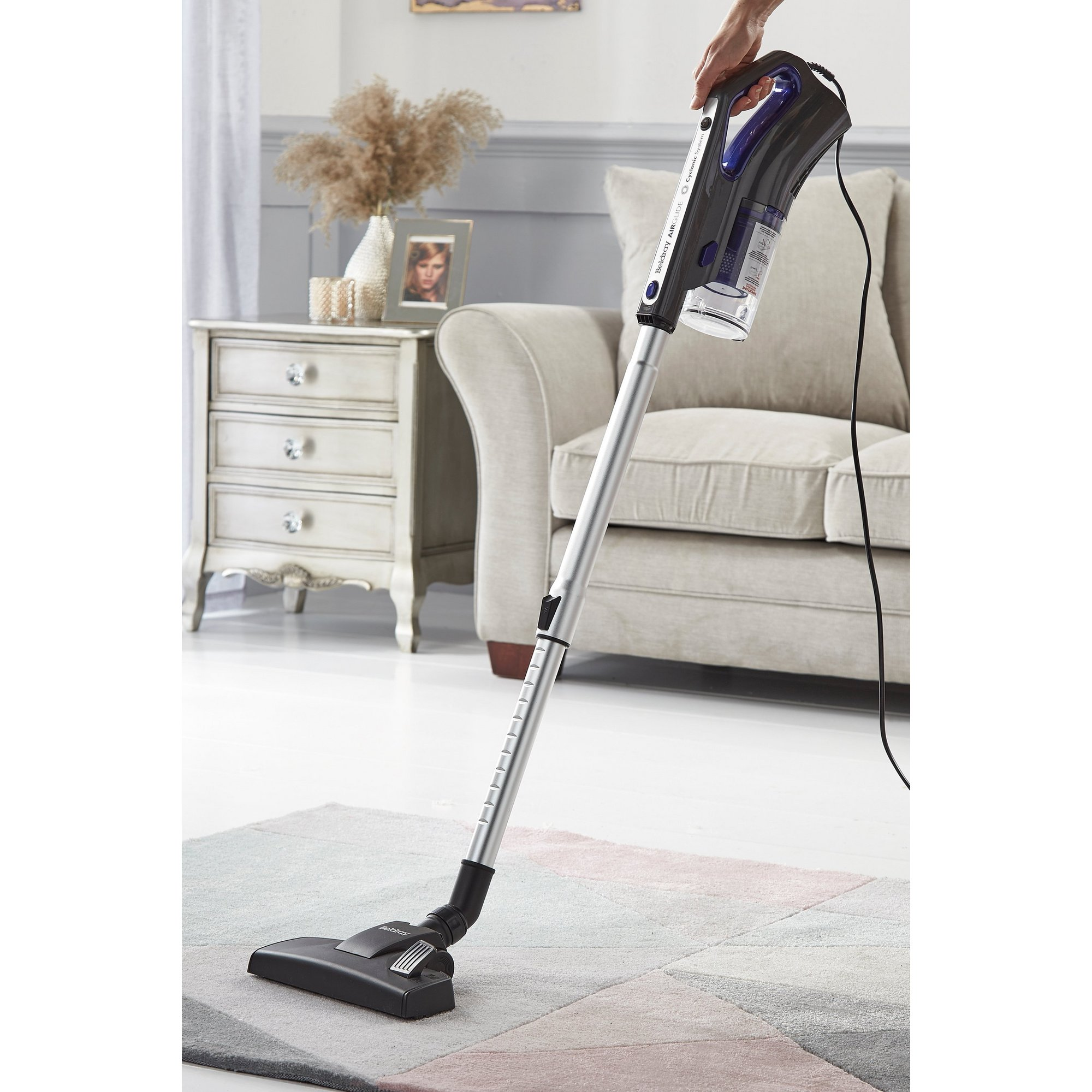 Image of Beldray Airglide 2-In-1 Corded Stick Vac