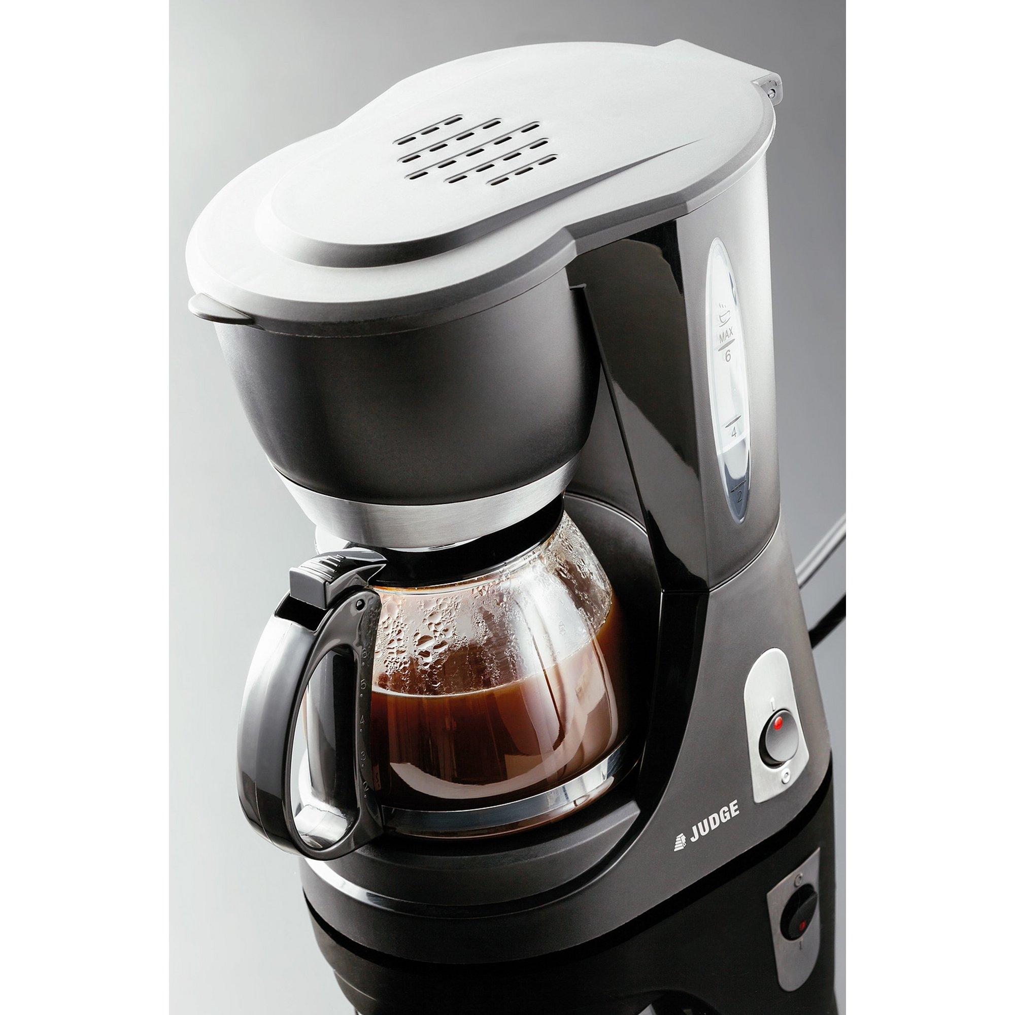 Image of Judge 6 Cup Filter Coffee Machine with Glass Jug