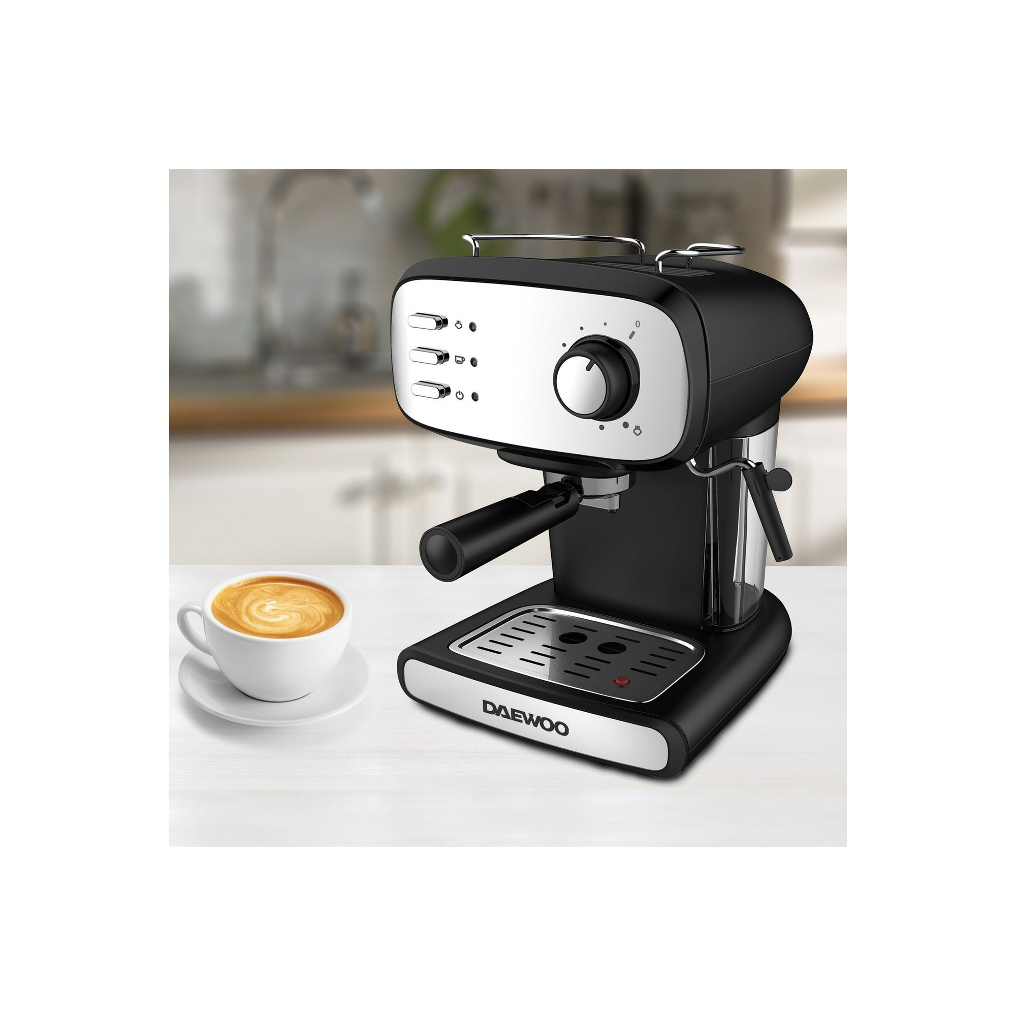 Image of Daewoo Espresso Coffee Machine