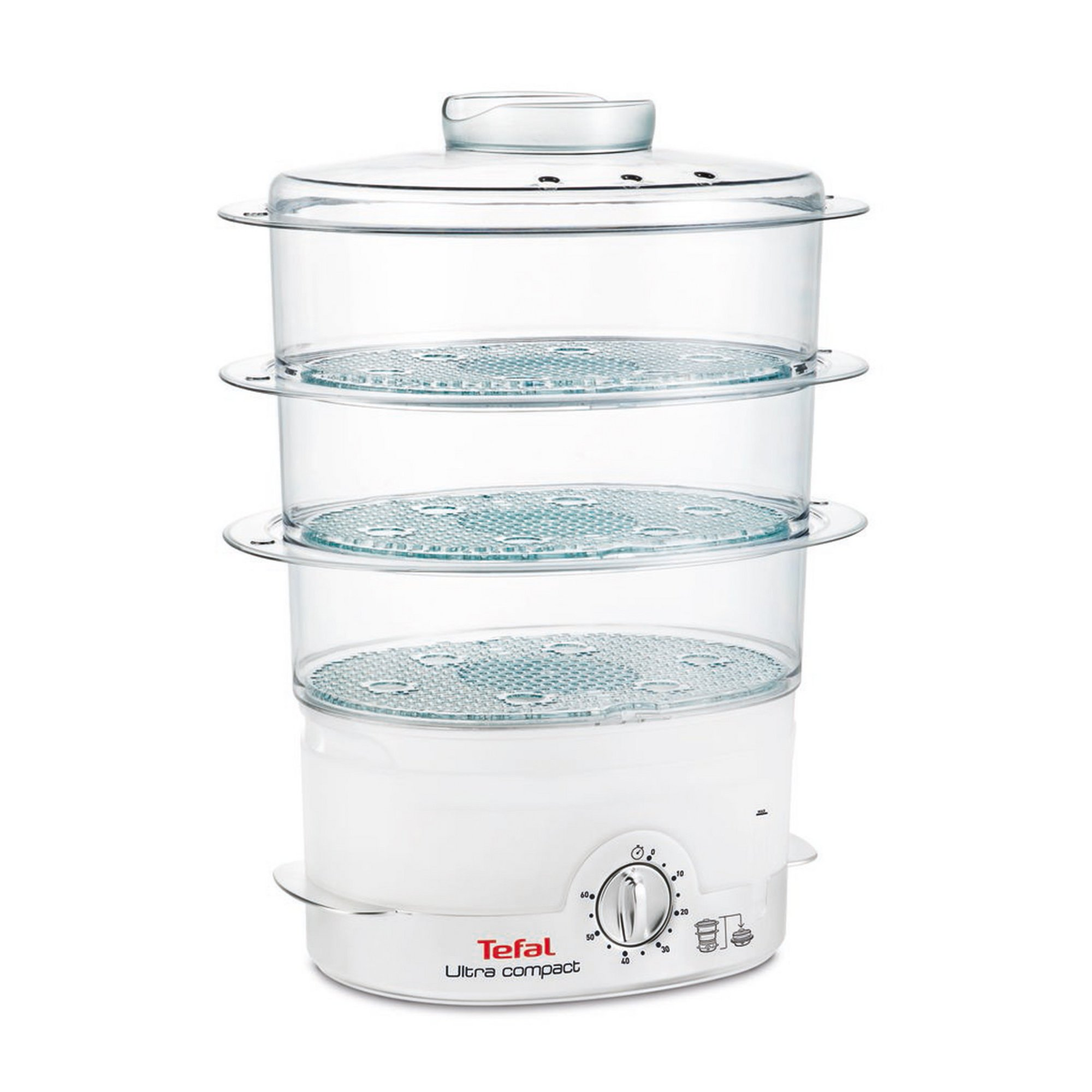 Image of Tefal Ultra Compact 3 Tier Electric Steamer