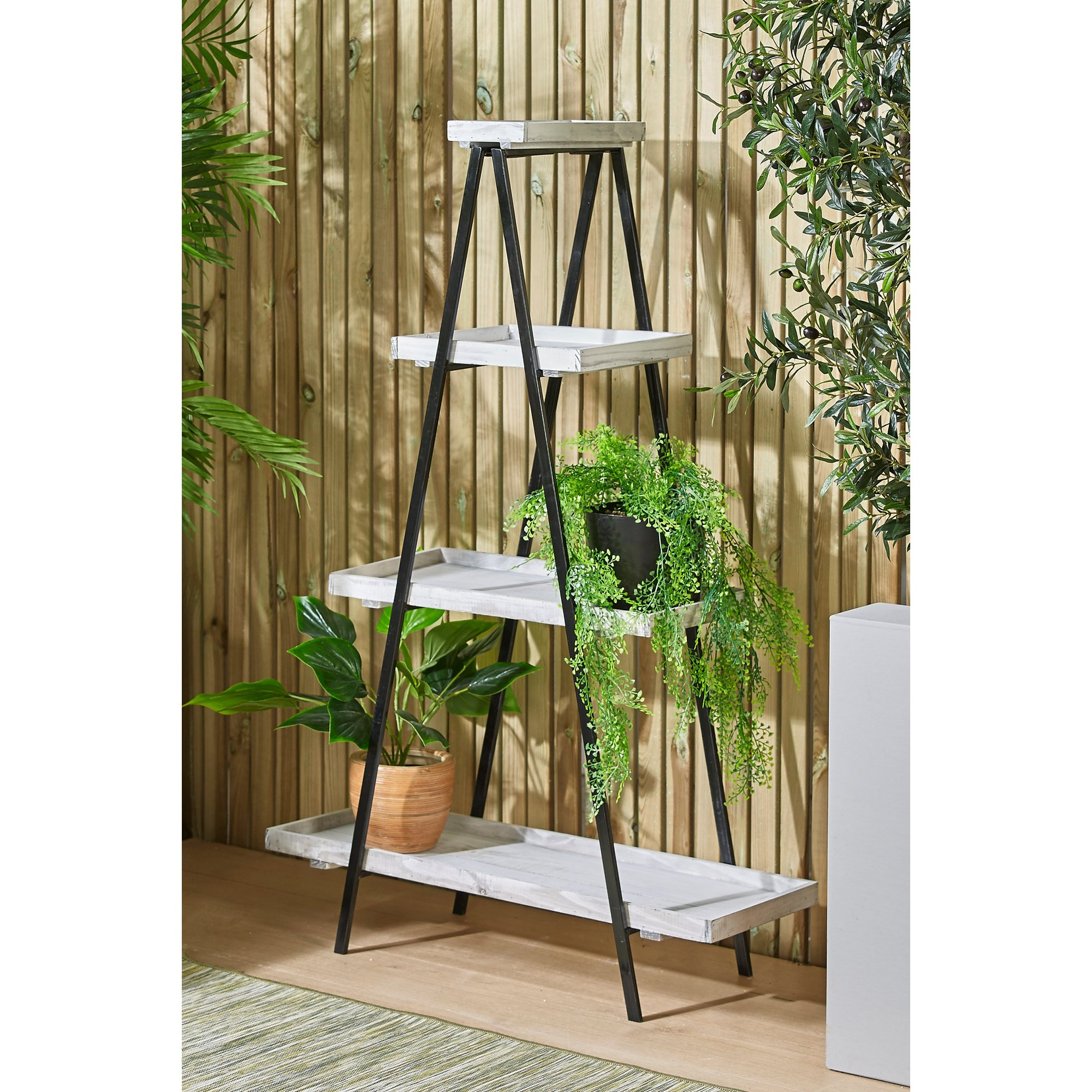 Image of A Frame Planter Stand