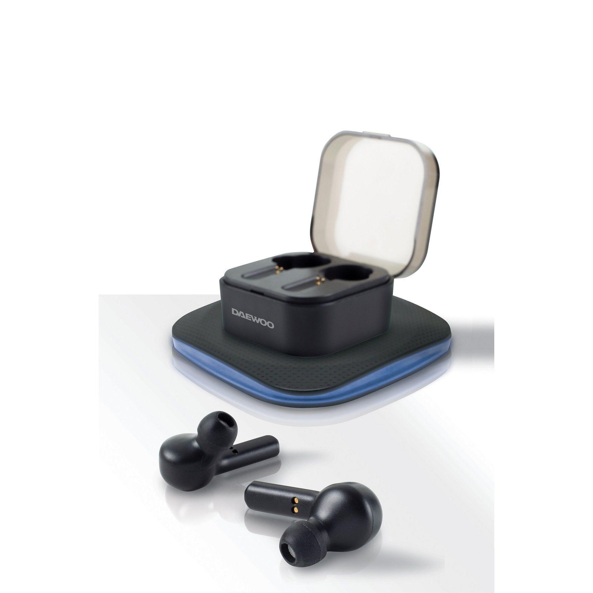 Image of Daewoo Air Buds and Charging Pad