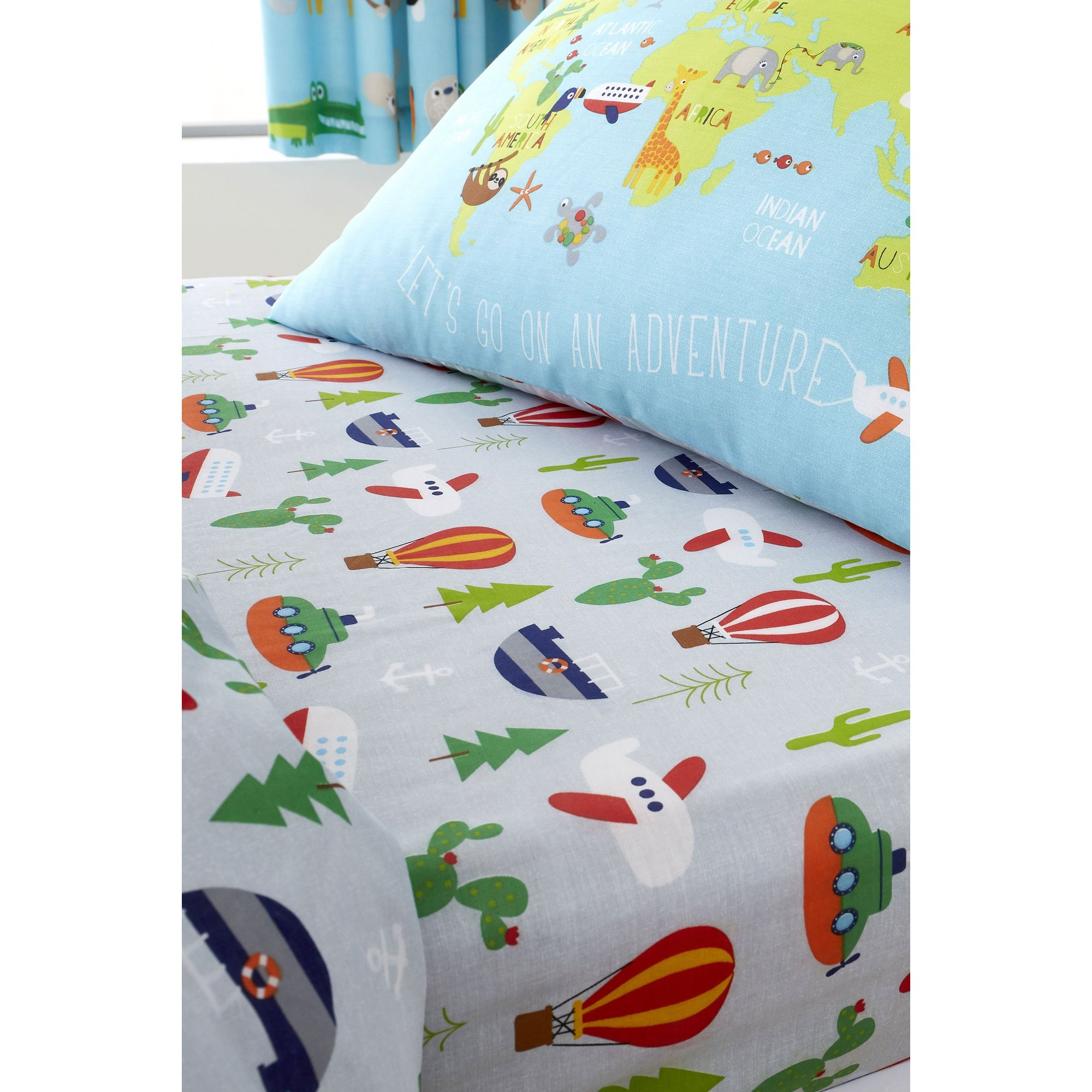 Image of Animal Adventures Fitted Sheet