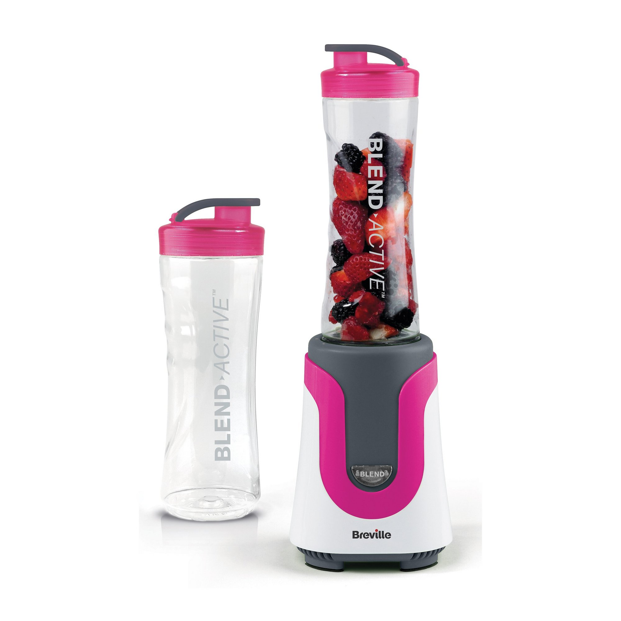 Image of Breville Blend Active Personal Blender&#44 with x2 600ml Bottles