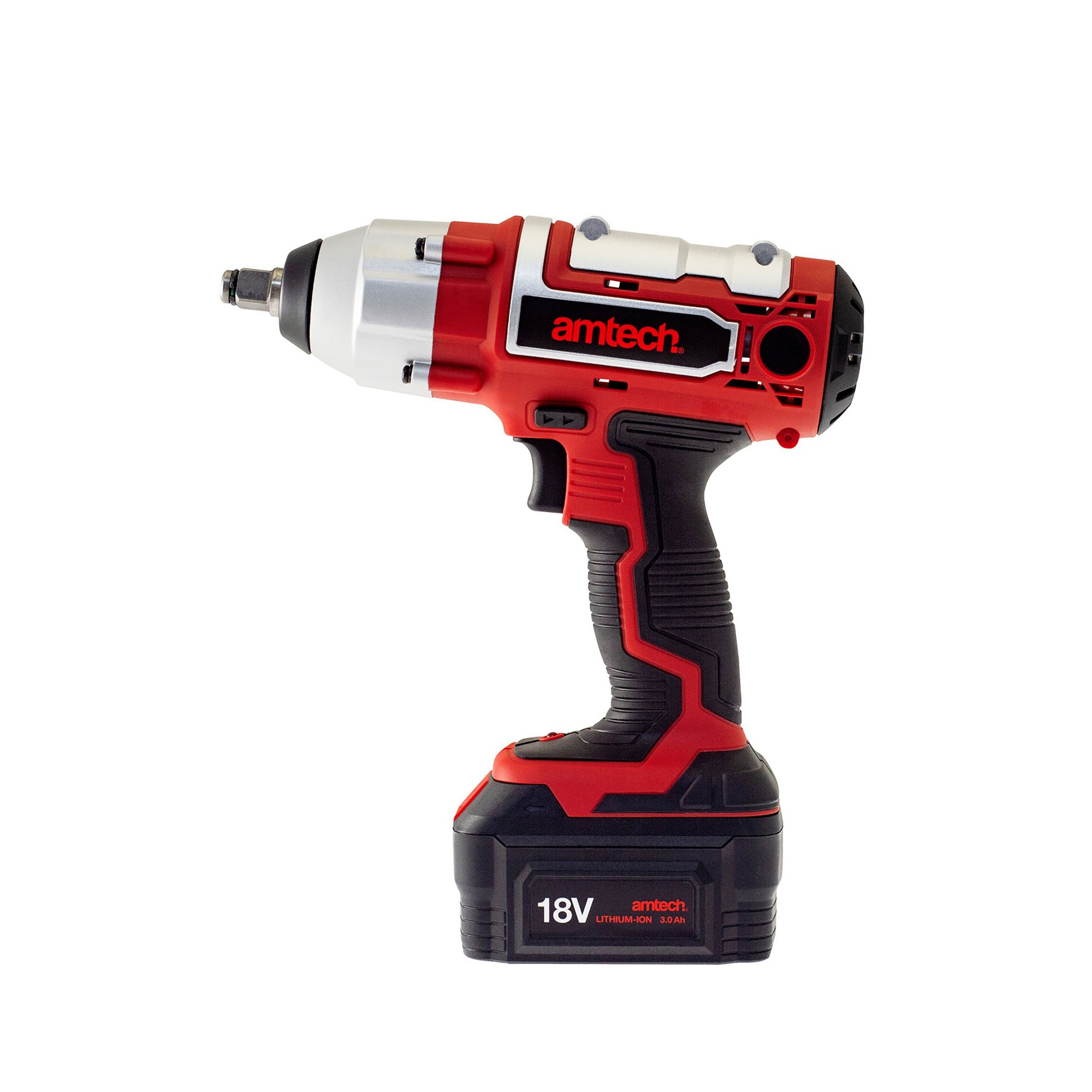 Image of 18v 3Ah Li-Ion Cordless 1/2 inch Impact Wrench
