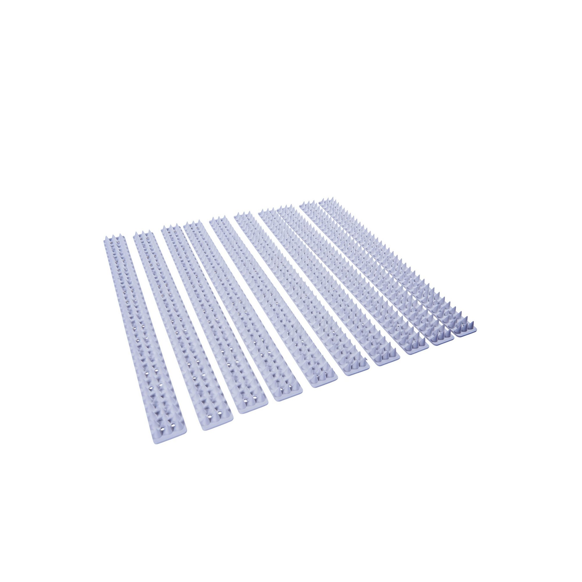 Image of 10 Piece White Security Spikes