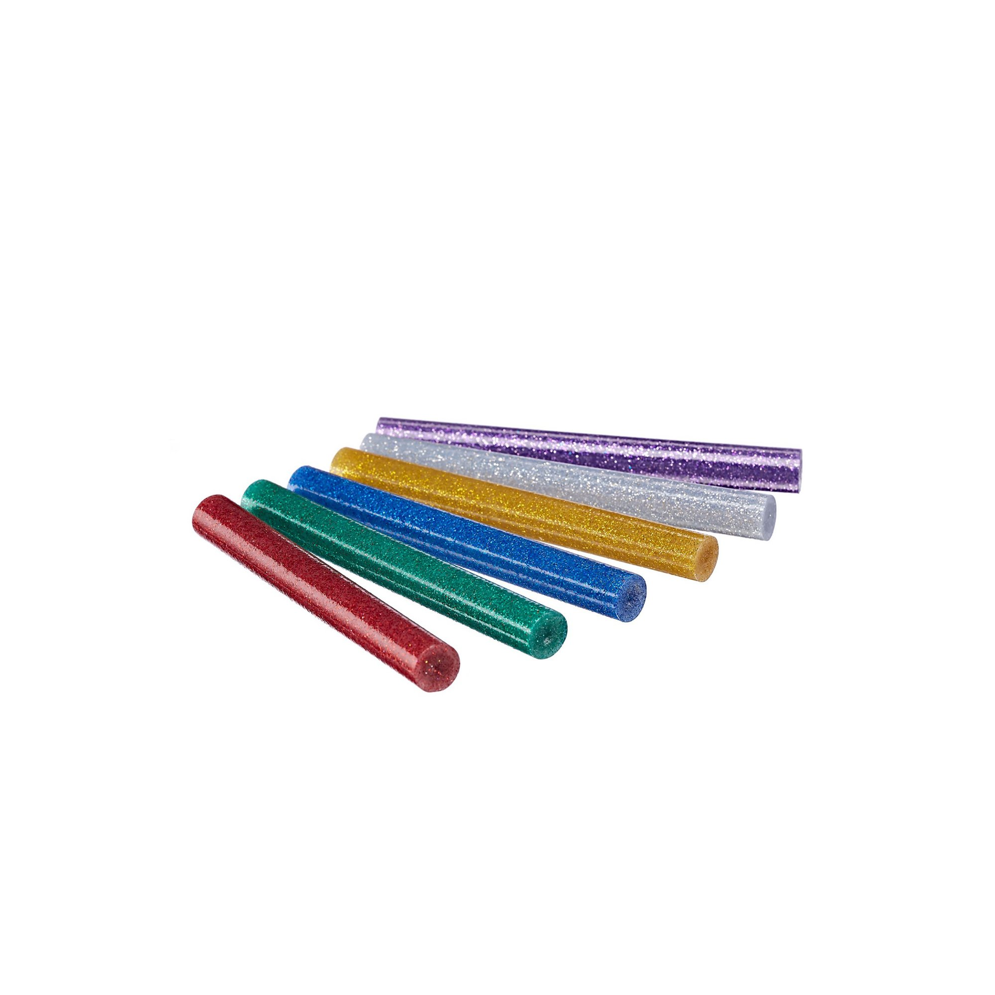Image of 30 Piece Glitter Hot Melt Glue Gun Sticks