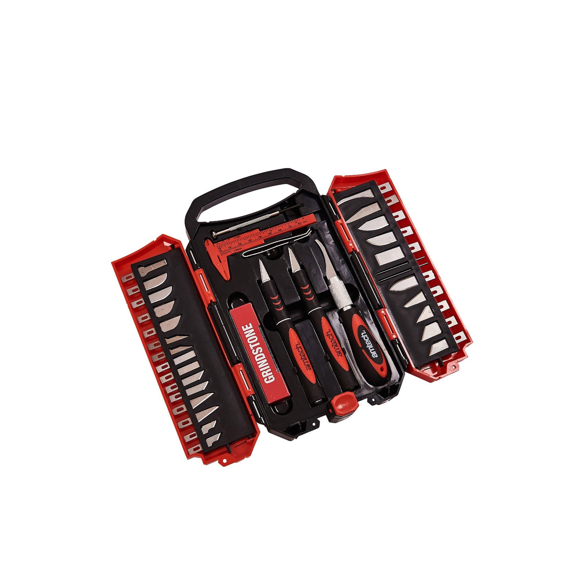 Image of 34 Piece Hobby Knife Set