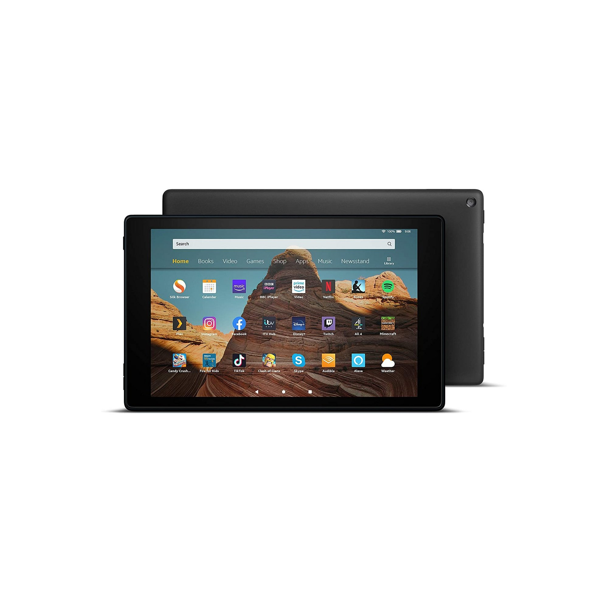 Image of Amazon Fire 10 HD 10.1in 32GB Tablet with Case
