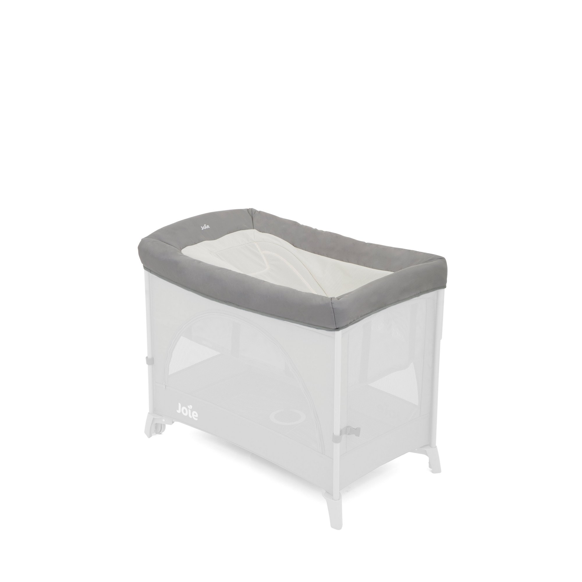 Image of Joie Daydreamer Travel Cot Accessory - Foggy Grey