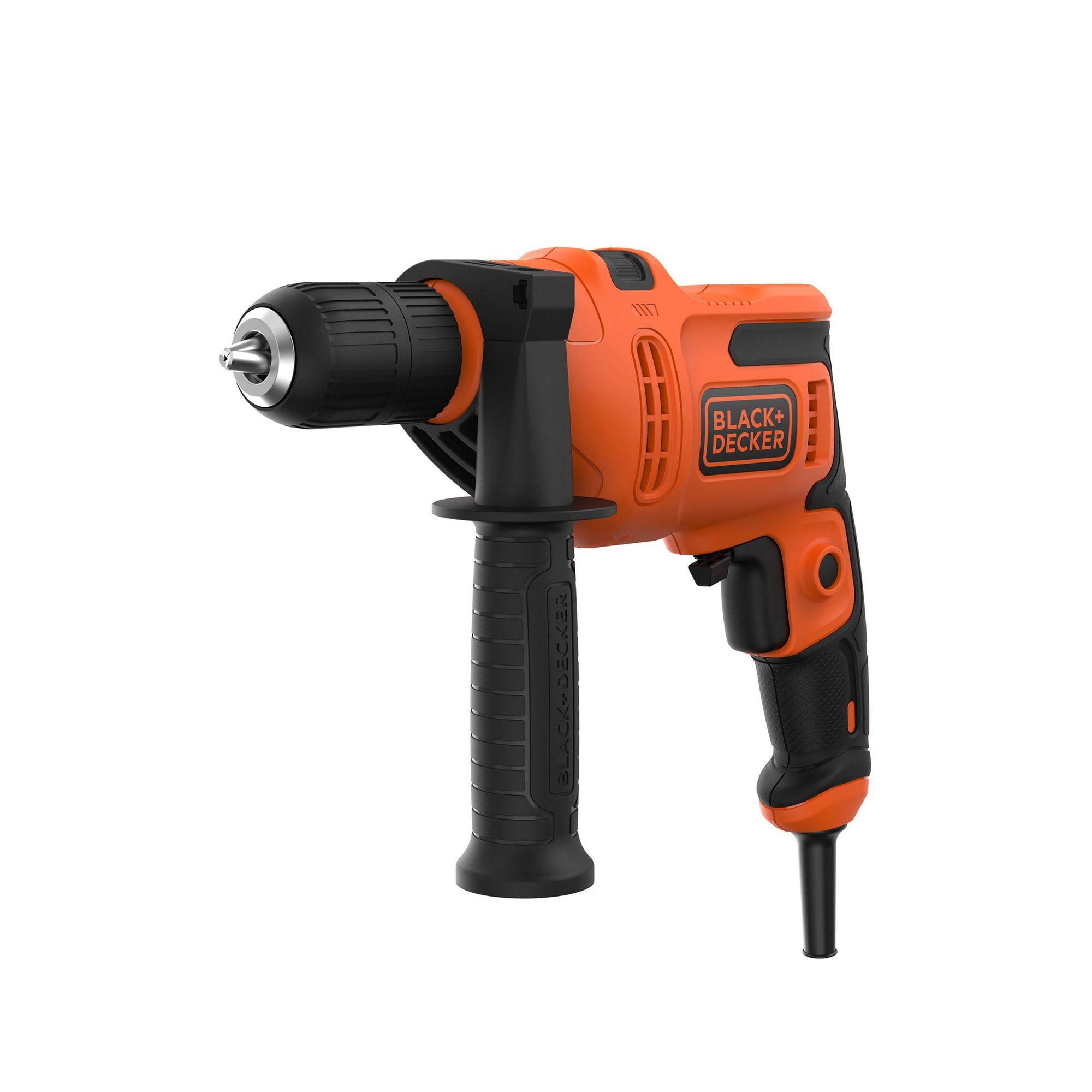 Image of 500W Corded Hammer Drill with 13mm Keyless Chuck