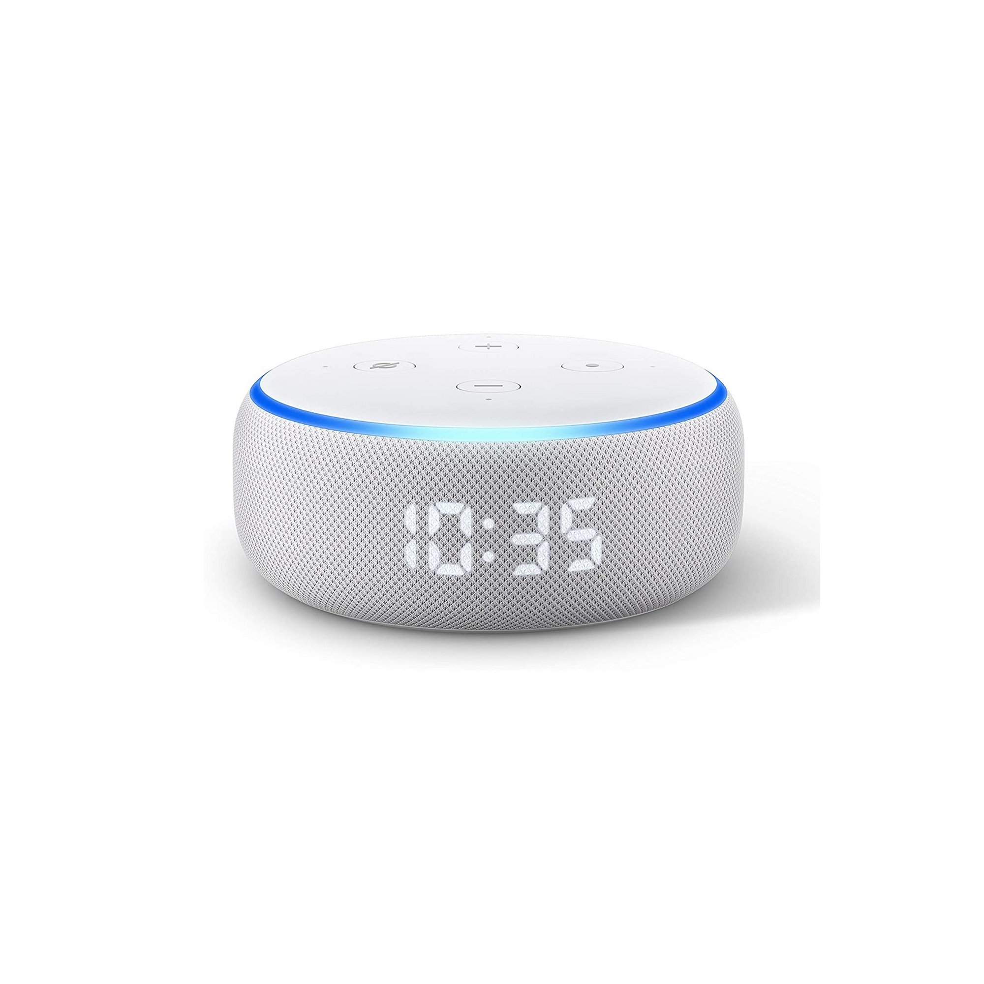 Image of Amazon Echo Dot 3rd Generation 2019 with Clock