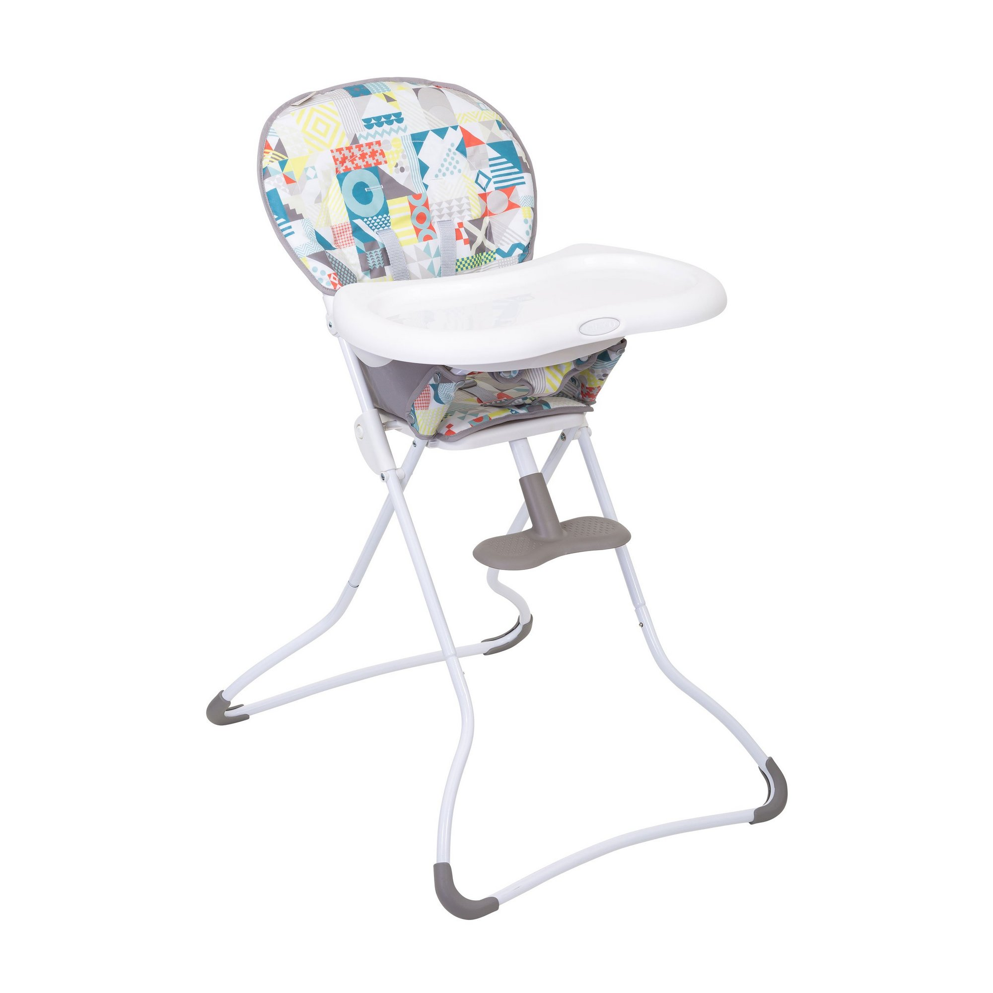 Image of Graco Snack N Stow Patchwork Highchair