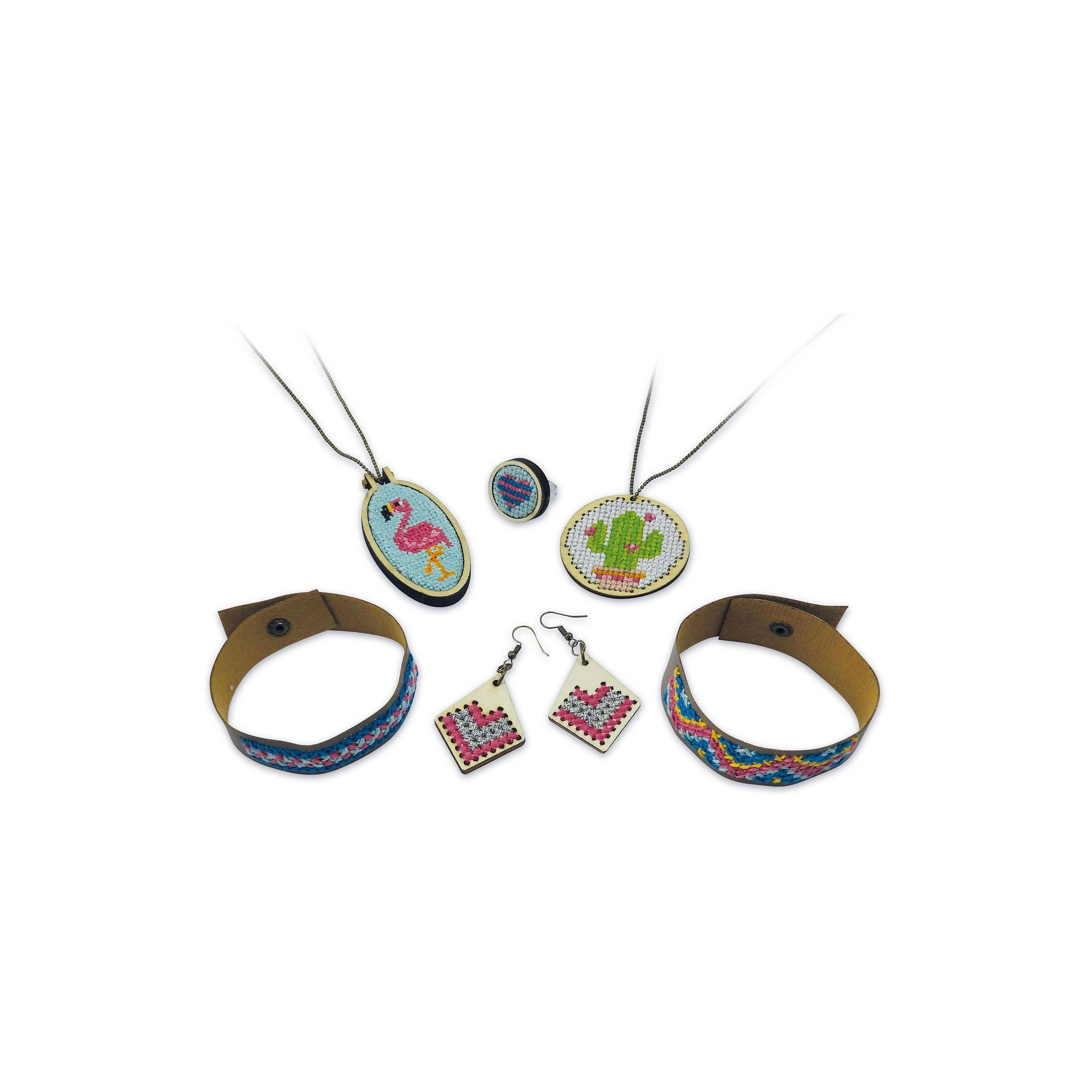 Image of Be Teens Embroidered Jewellery Set