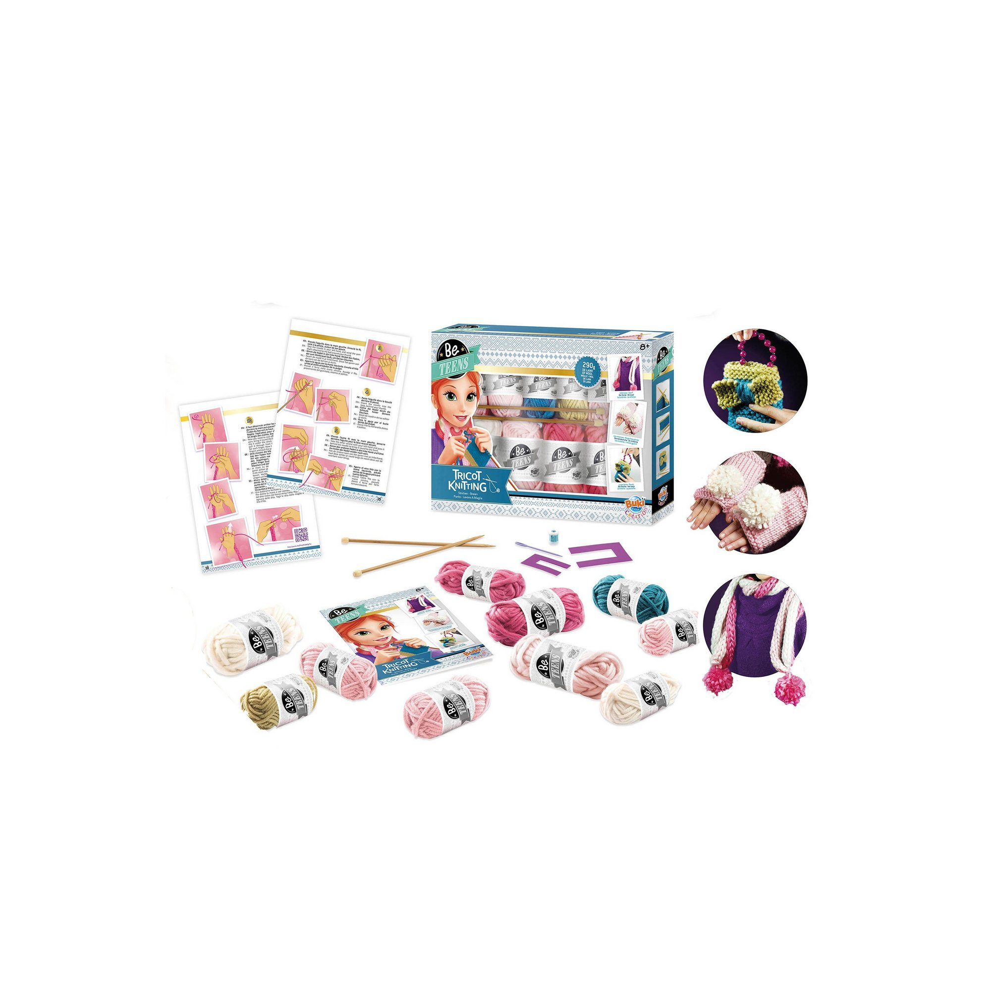Image of Be Teens Tricot Knitting Kit