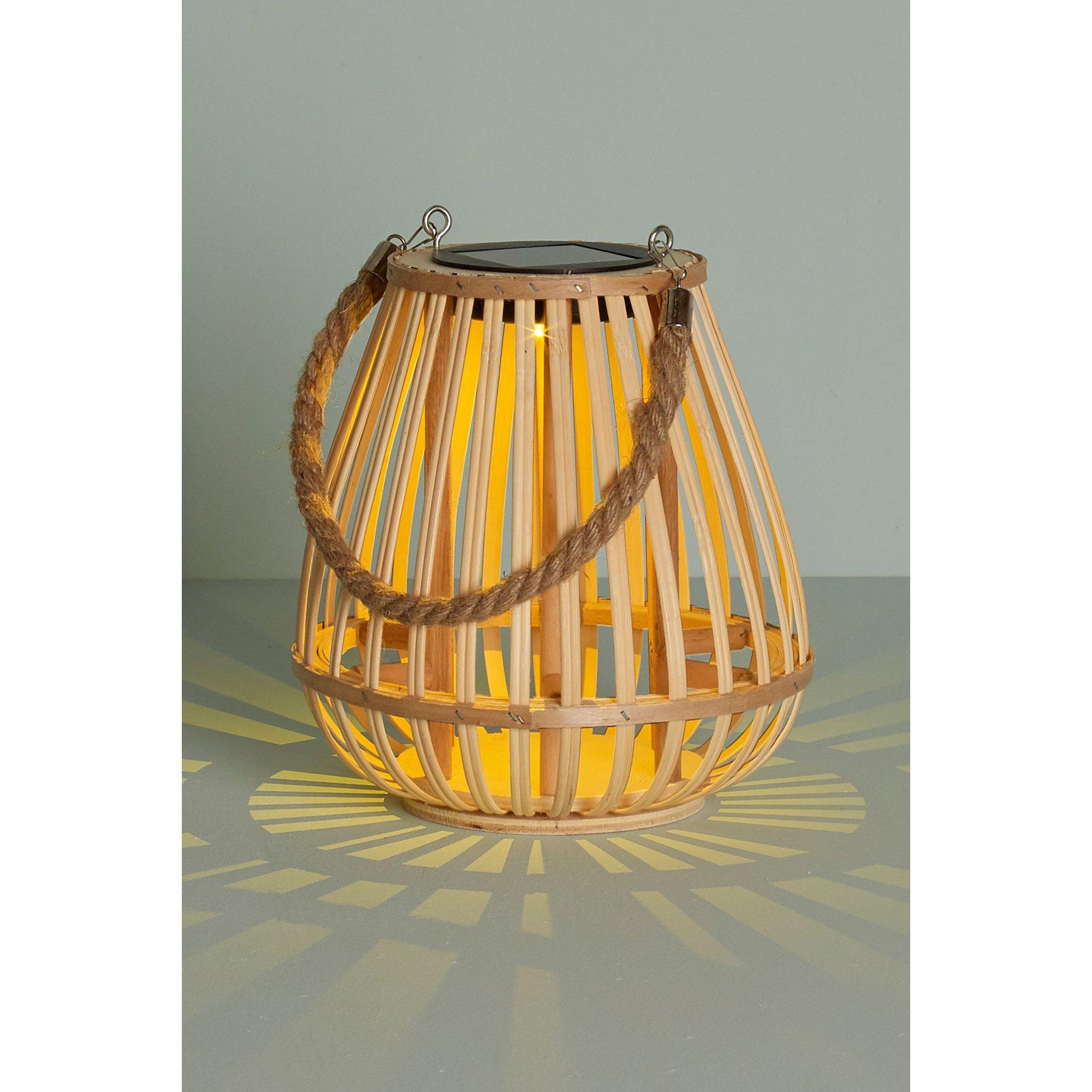 Image of Bamboo Solar Lantern