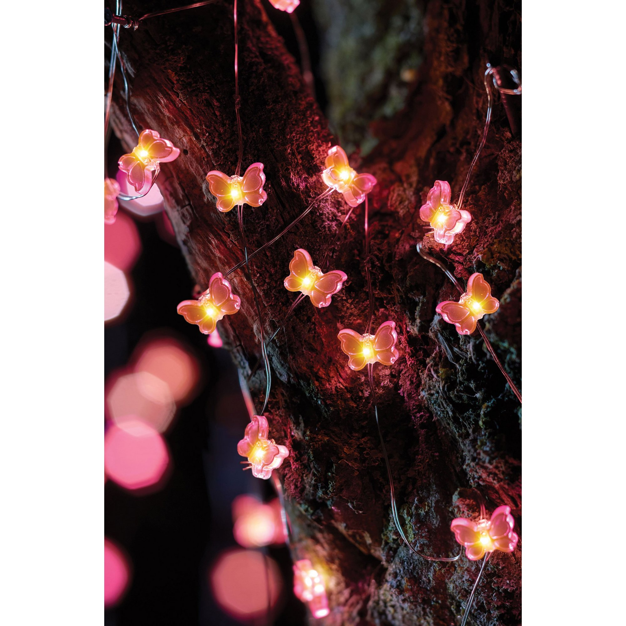Image of 30 Butterfly Firefly String Lights