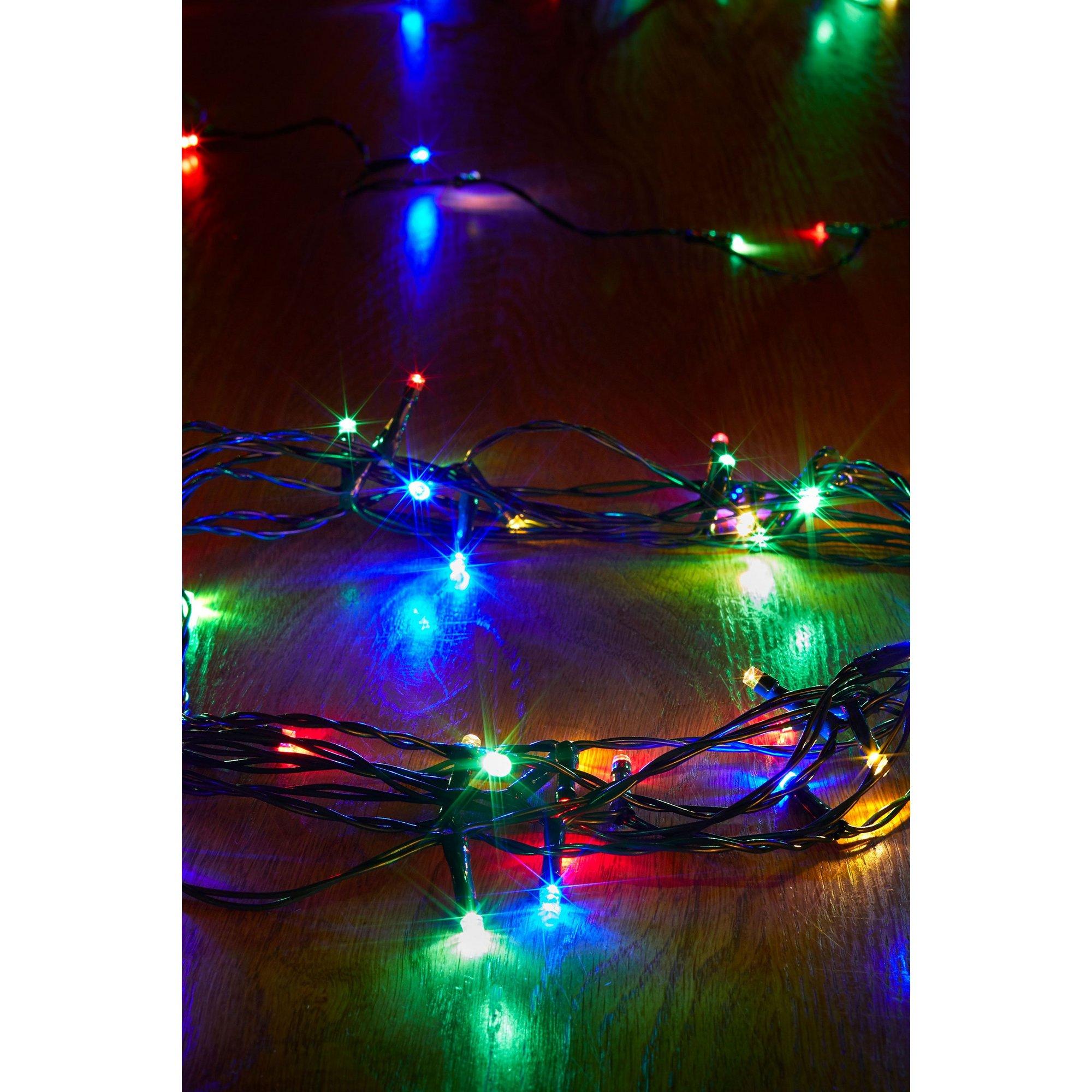 Image of 200 Multi Coloured String Lights