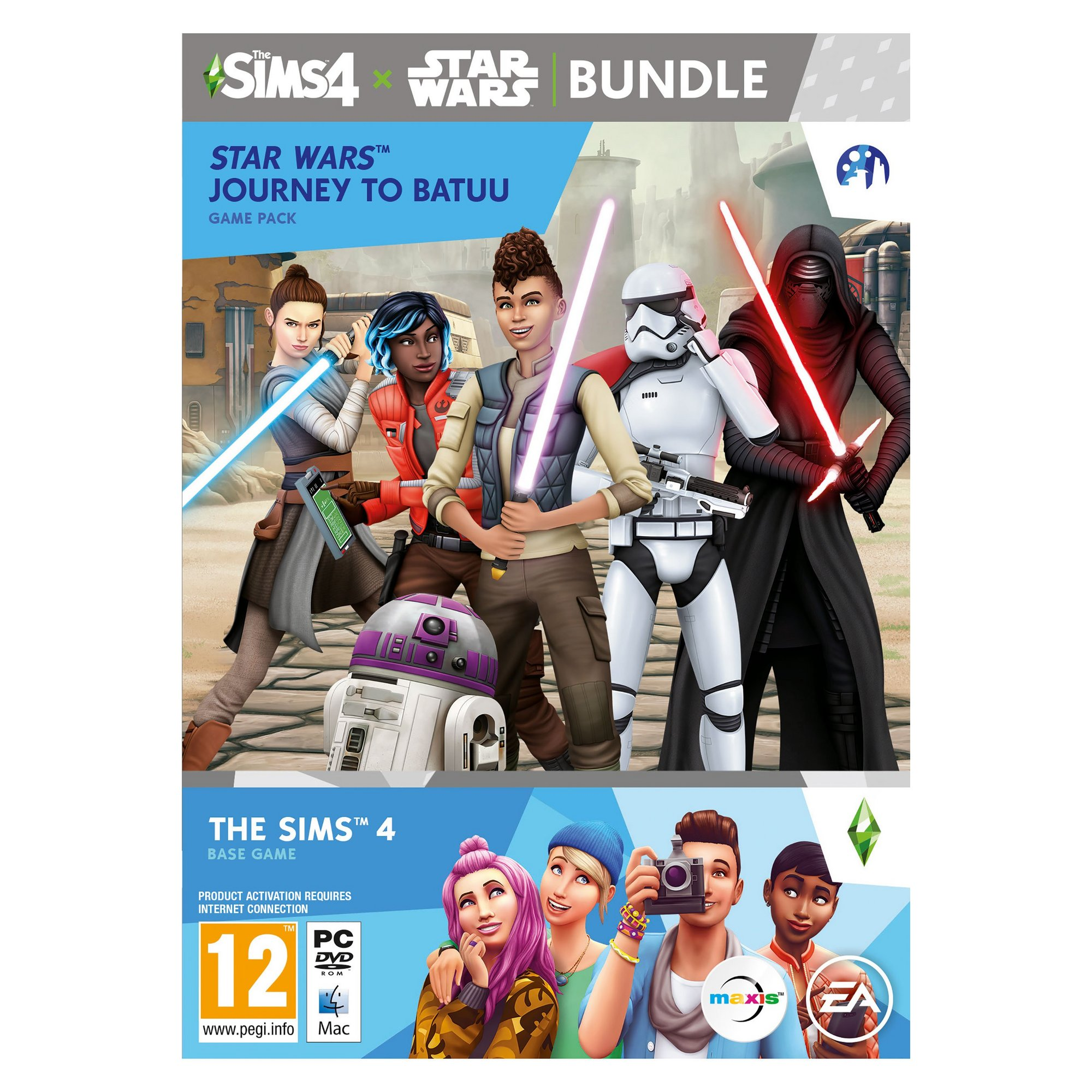 Image of PC: The Sims 4 Star Wars: Journey To Batuu: Base Game Pack Bundle