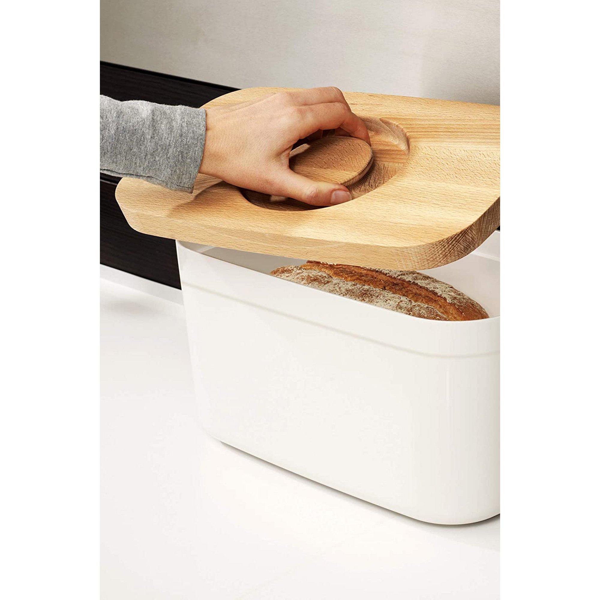 Image of Joseph Joseph Bread Bin with Cutting Board