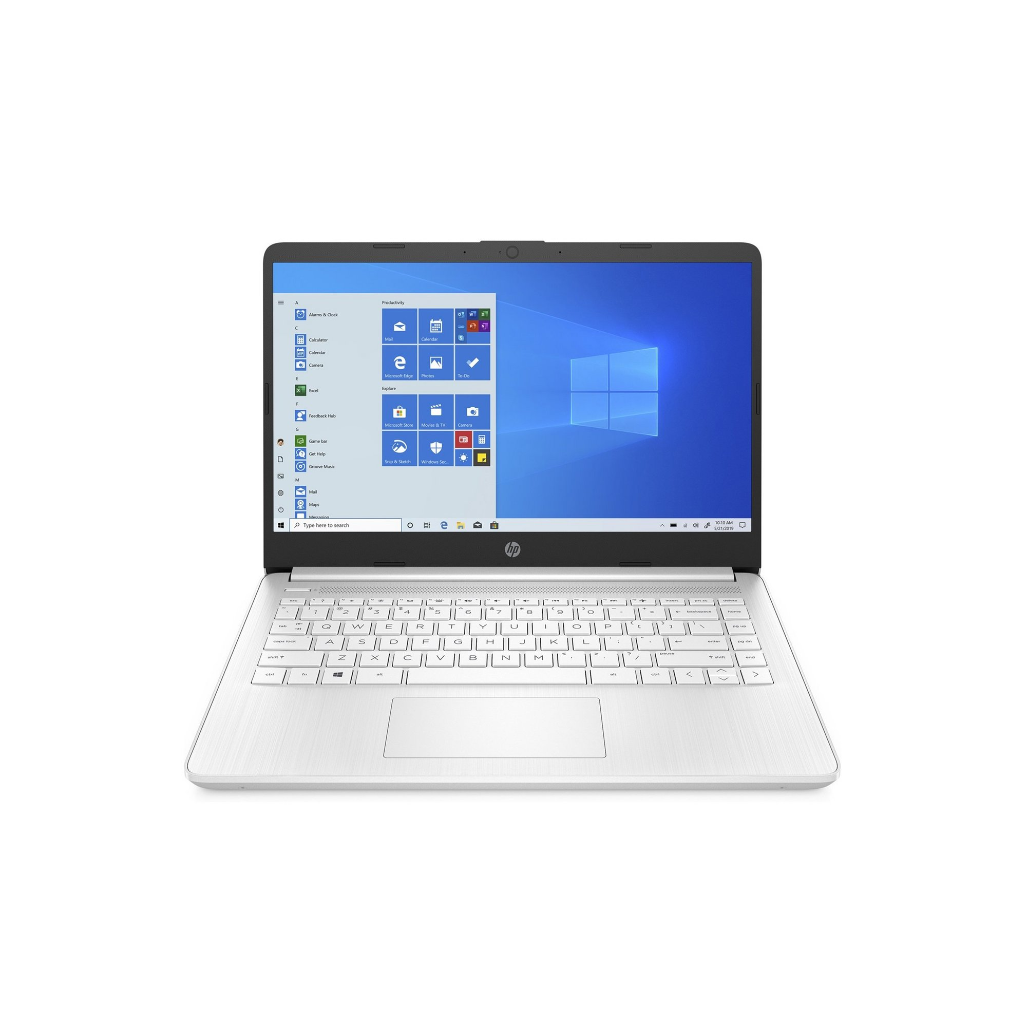 Image of HP 14s-fq0017 AMD 64GB Windows 10 Laptop